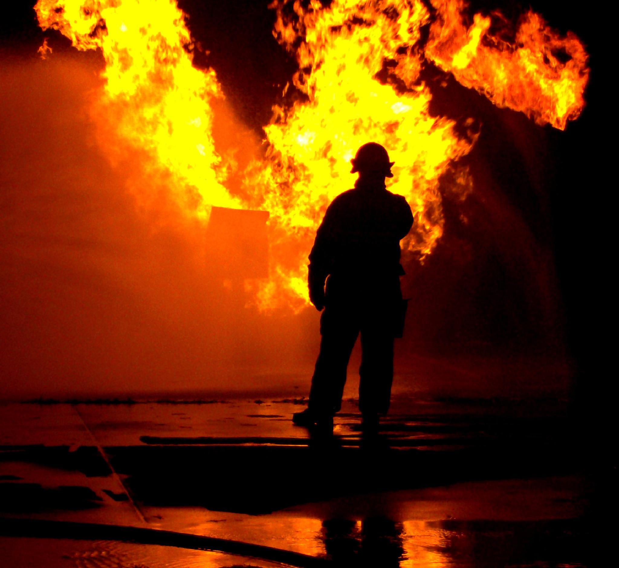 Fire Drill by Catjar
