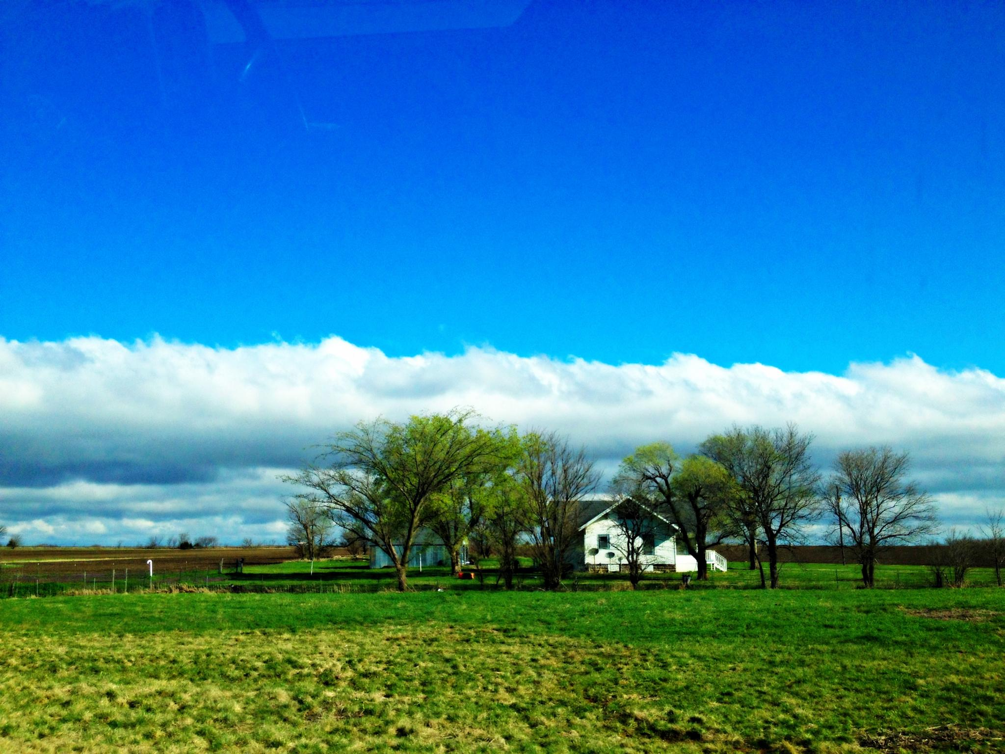 country driving  #lowclouds#clearsky #countryLiving by jancarty