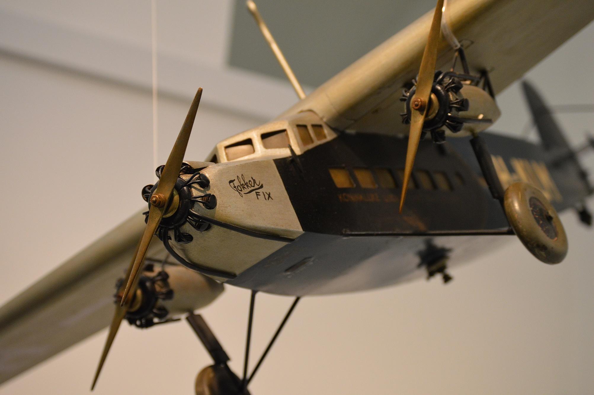 Fakker Fix Airplane Model 1932 by Jimmy Navarro