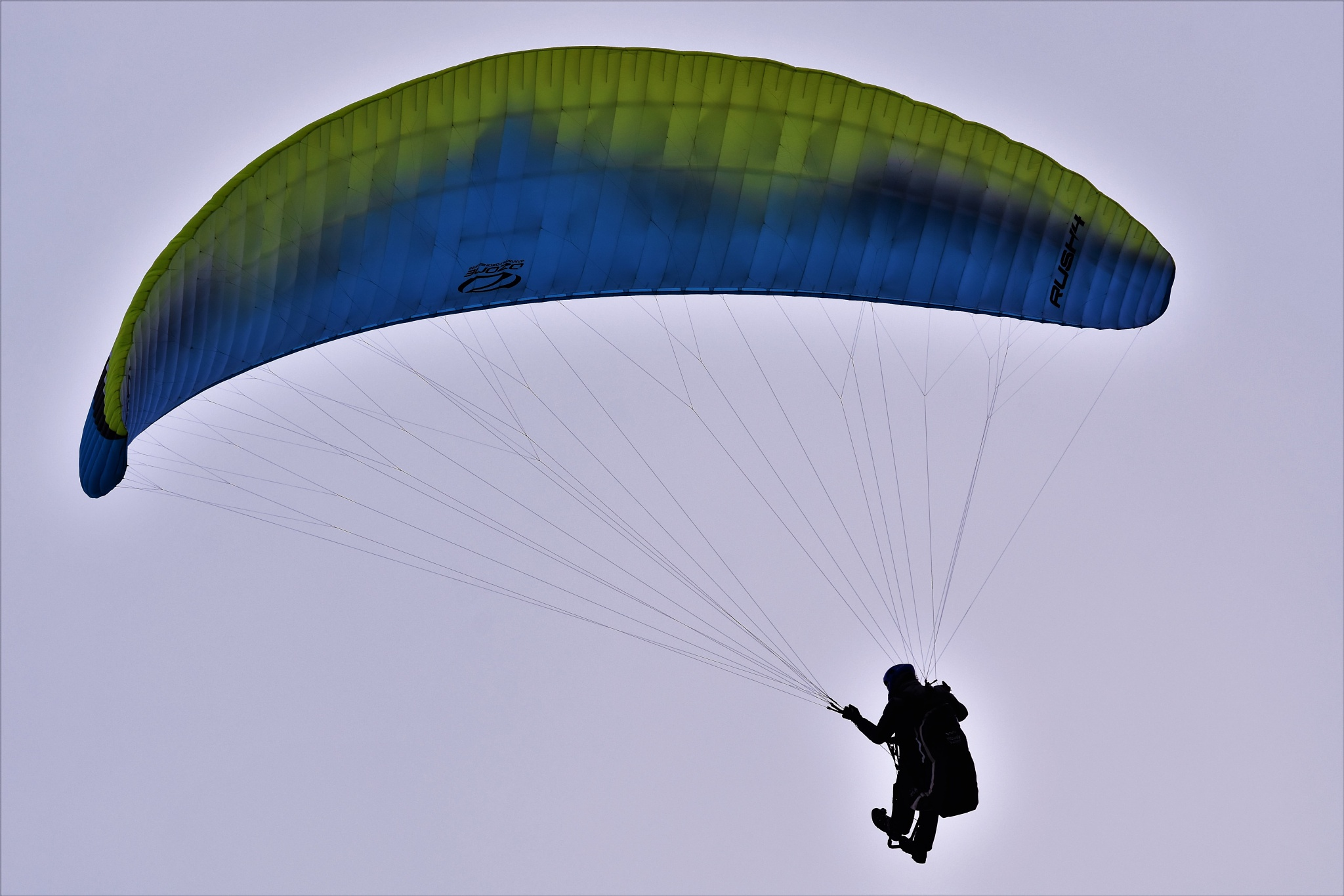 Paragliding by Gerard Francis Corbett