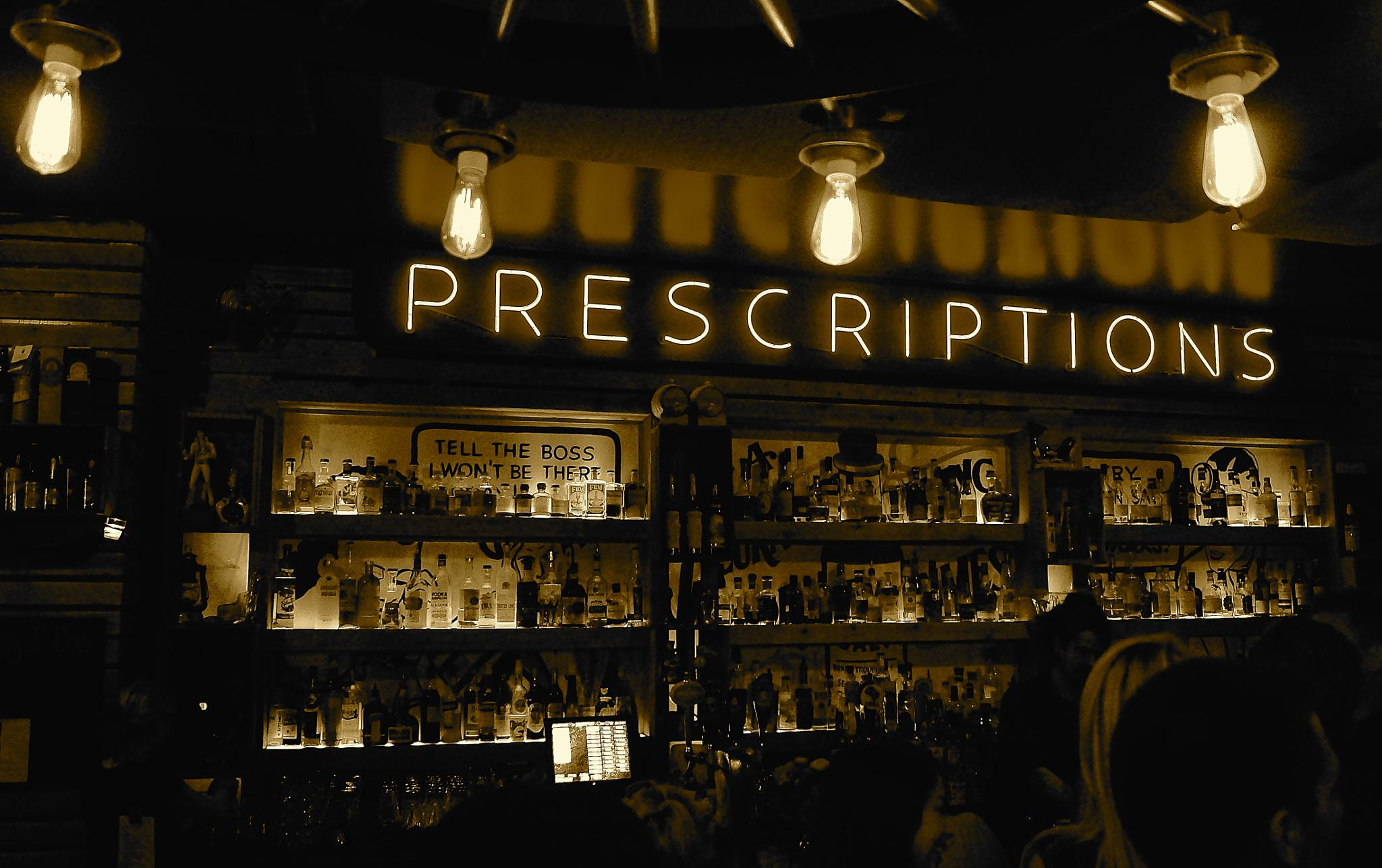 PROHIBITION IS OVER come and get your prescription  by orhidea images