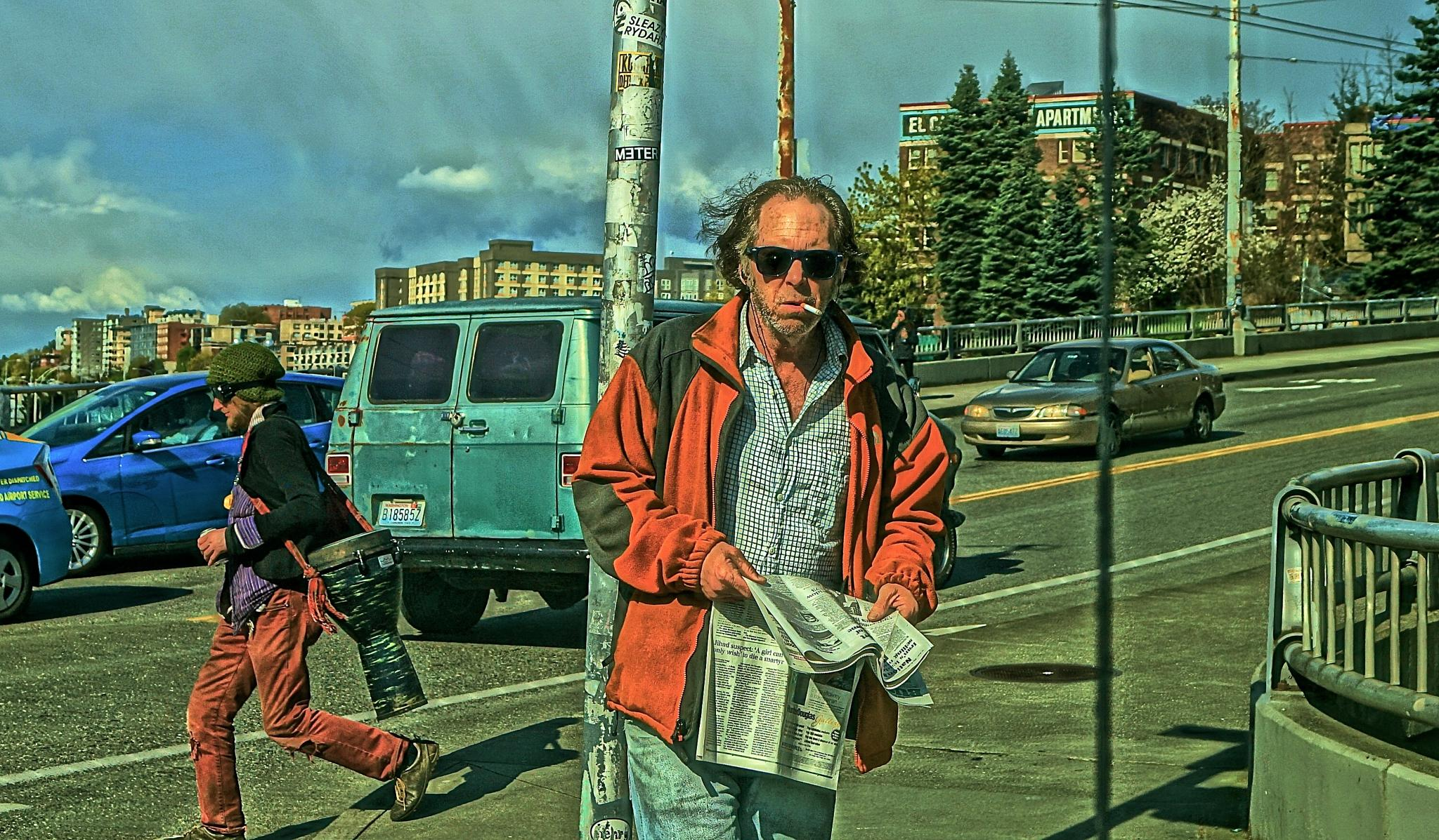 BUKOWSKY IS ALIVE AND WELL LIVING IN SEATTLE by orhidea images