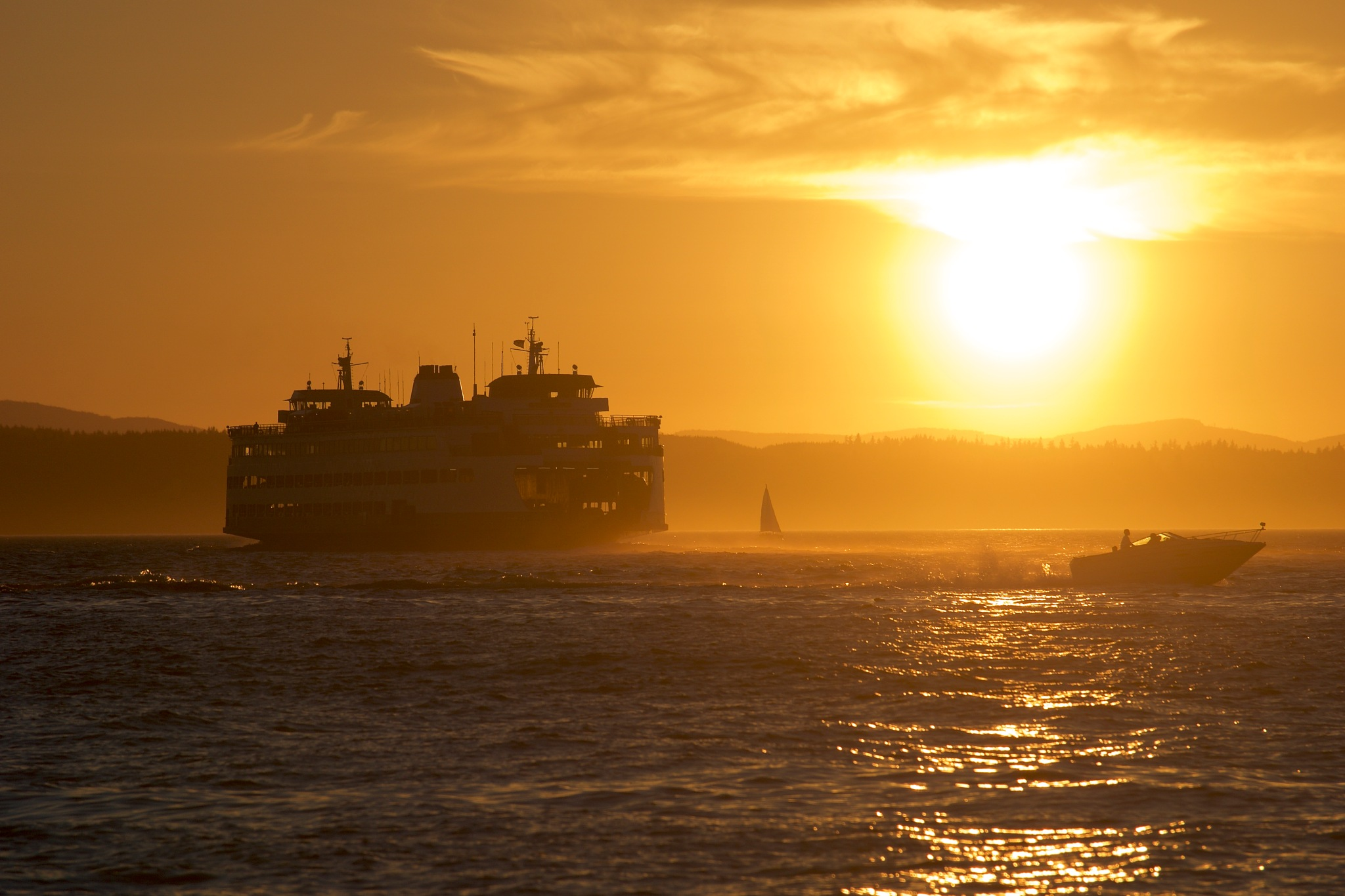 Sunset traffic  by orhidea images