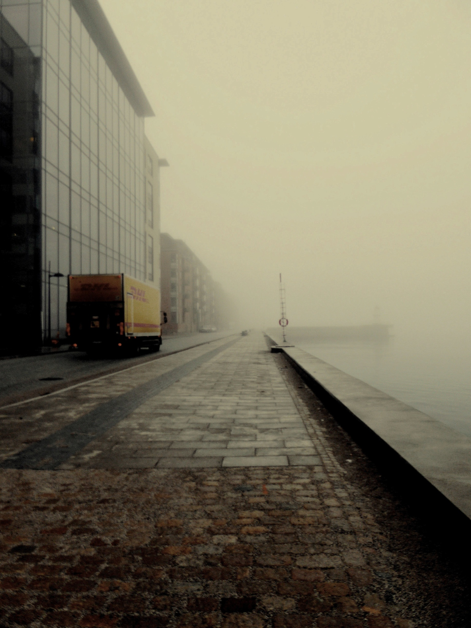 Mist covered city....part 2 by MiaE