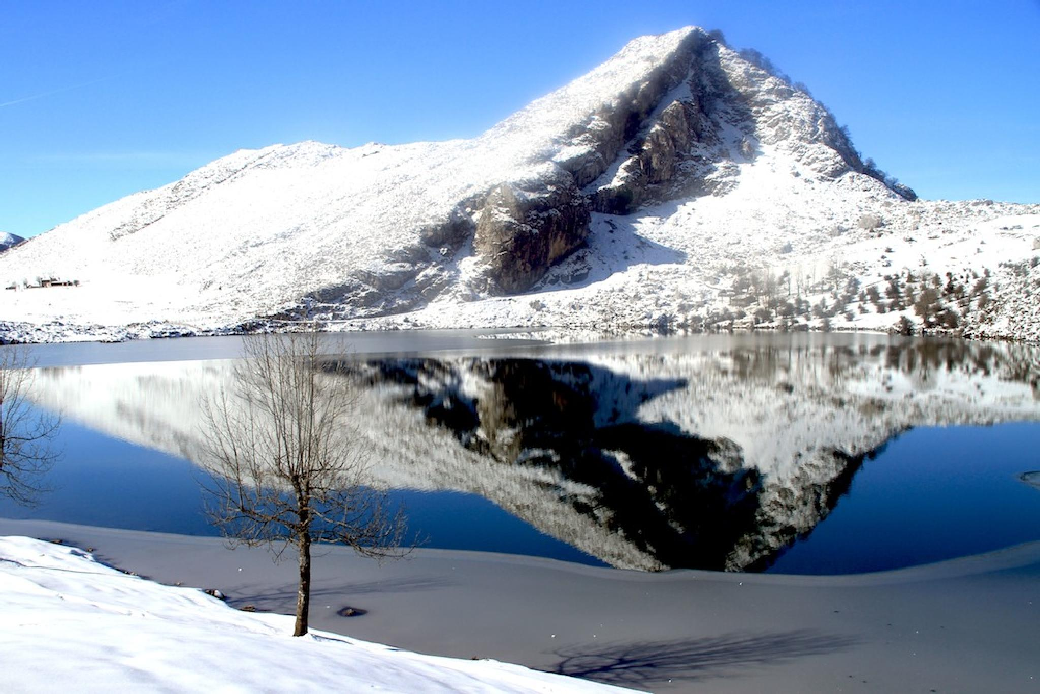 Lago Enol (Cangas de Onis) by Luis Filipe Pires