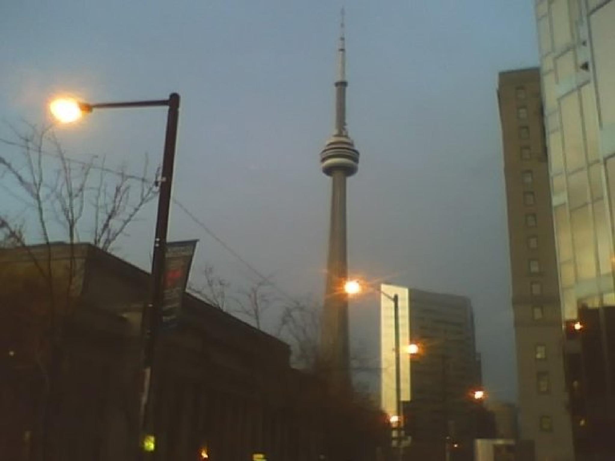 CN Tower by Gene Ellison