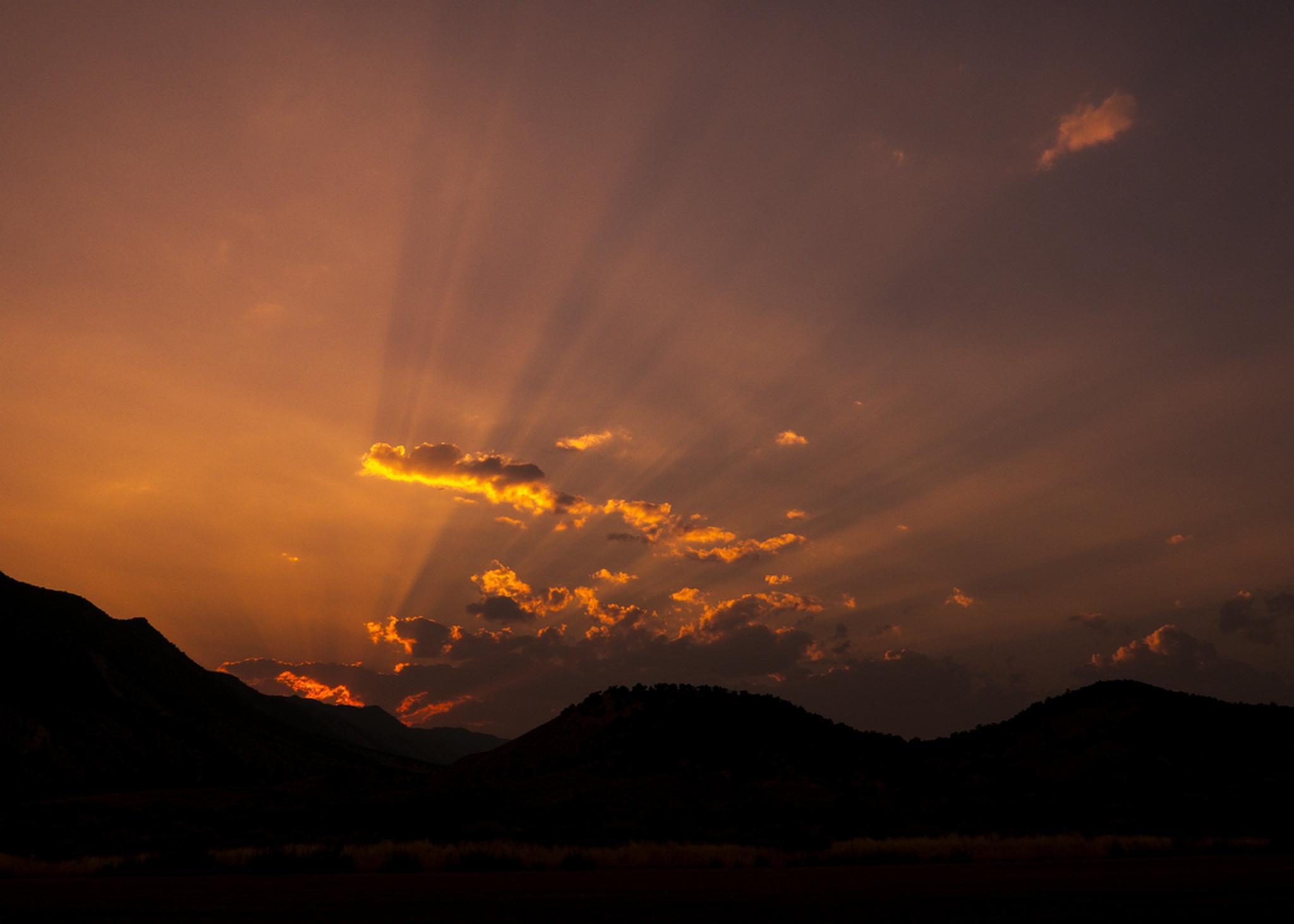 Rays of Glory by jeannie jay martin