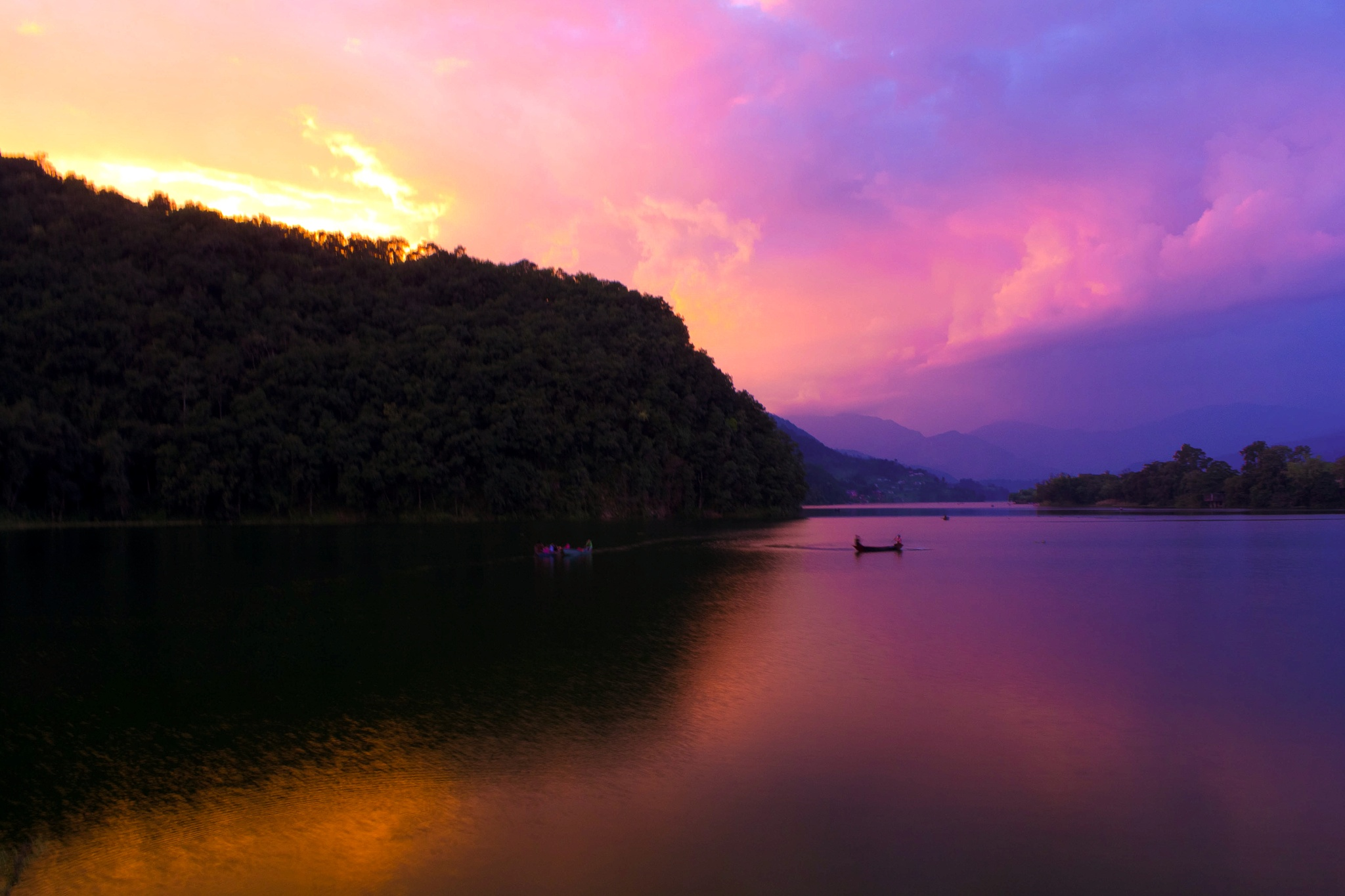 Fewa Lake by contactsurajlama