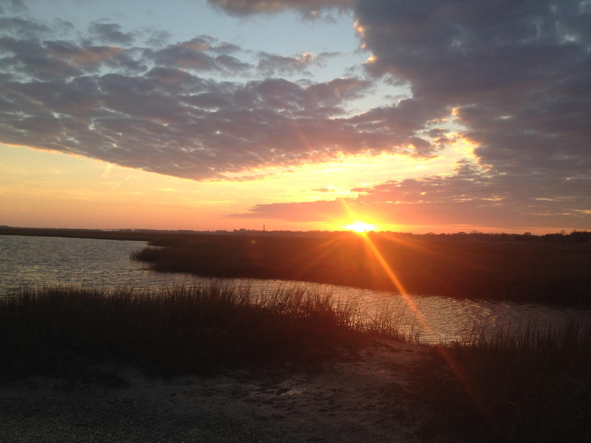 Somers Point, NJ Sunset by renee.pagliughi
