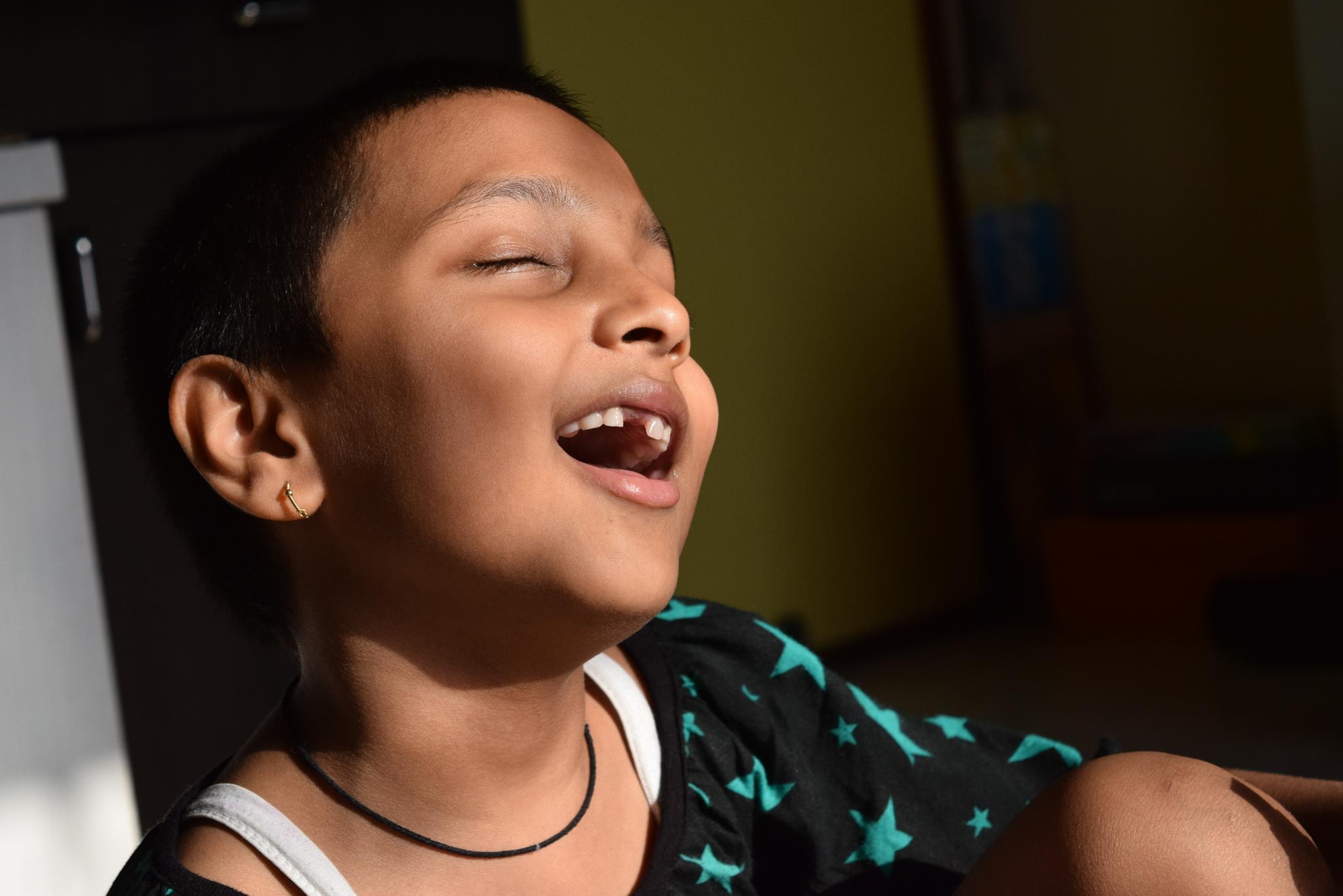 Child portrait  by Sameer Kharade