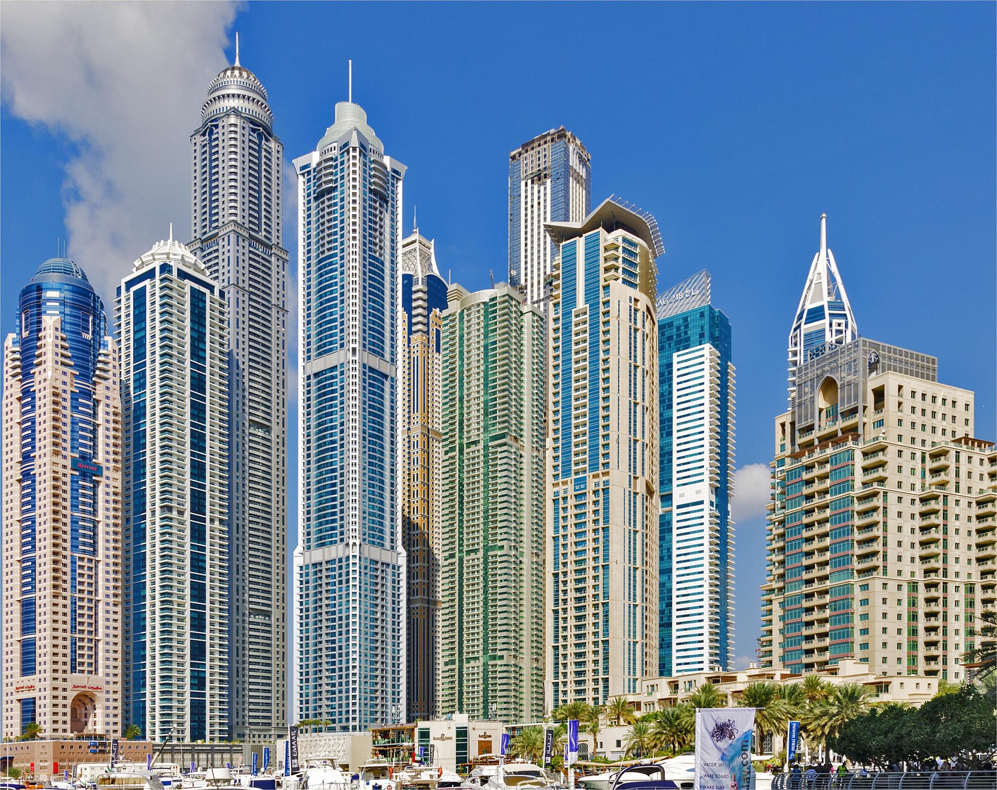DUBAI MARINA by HeidiGK