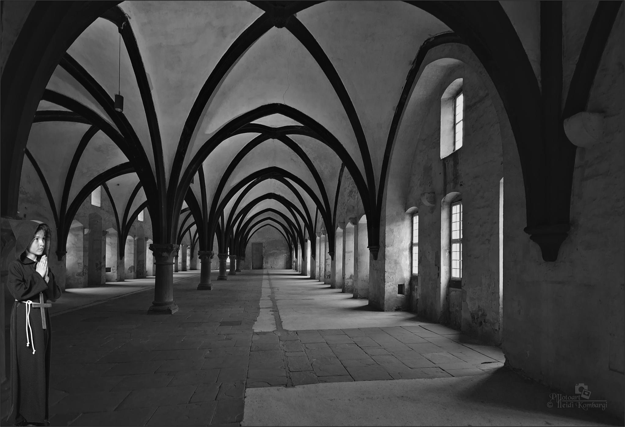 Eberbach Abbey II by HeidiGK