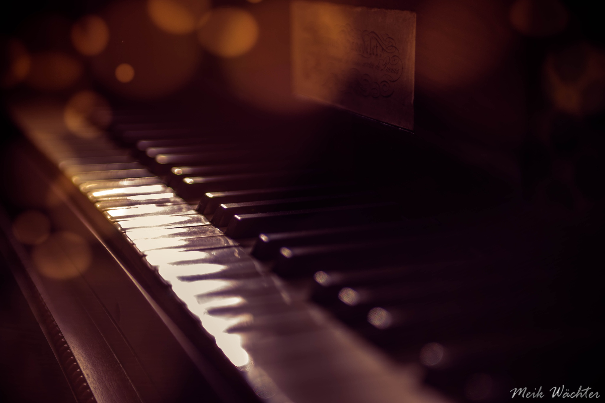 The Piano, das Klavier by Meik Wächter