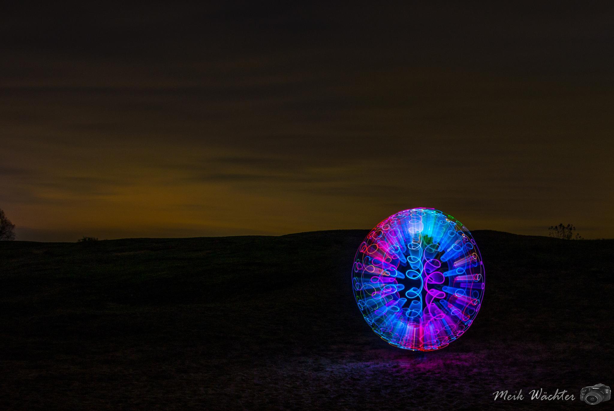 Photo in Abstract #lightart lightpainting