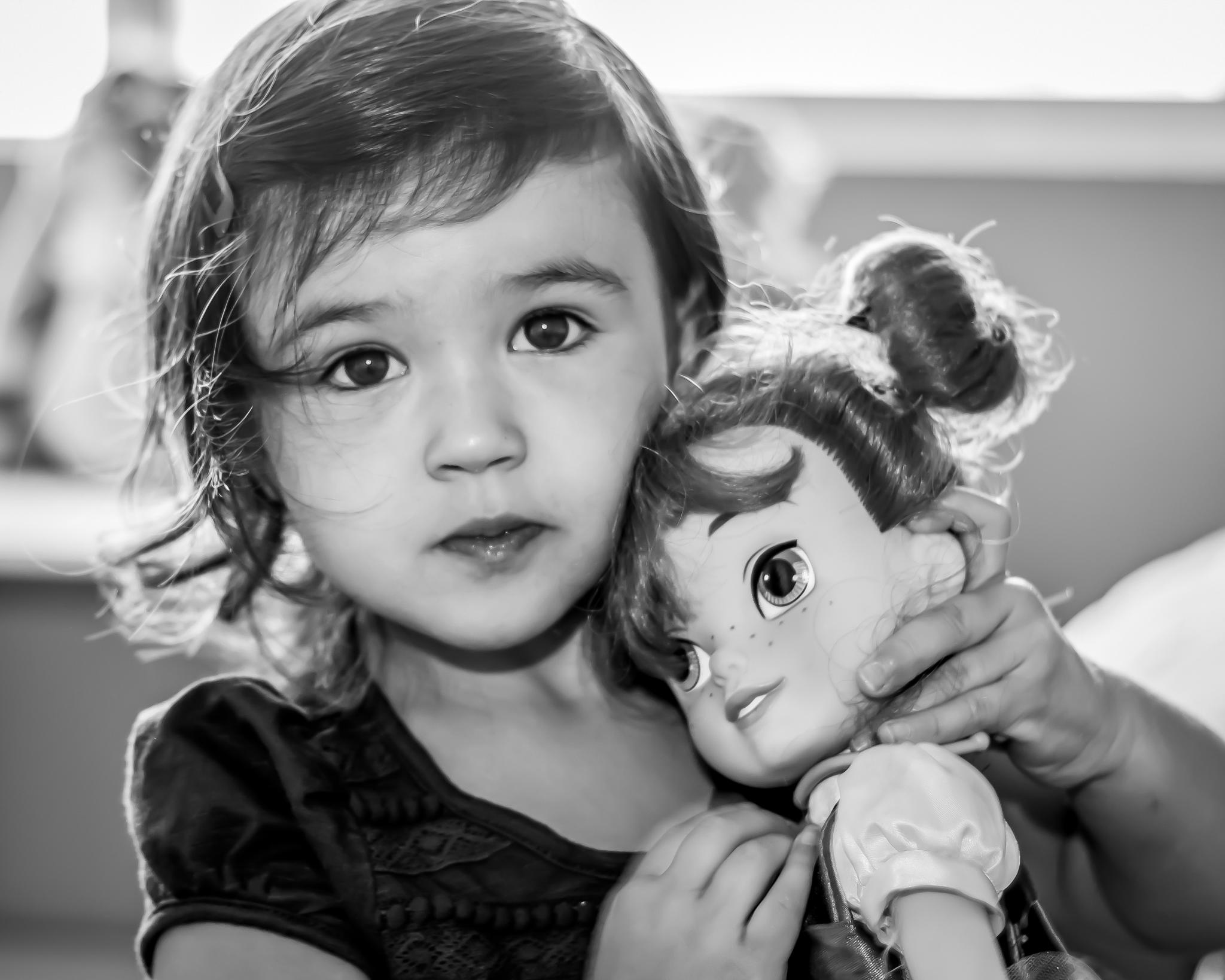 Miss Kenley & Her Dolly by Petminder