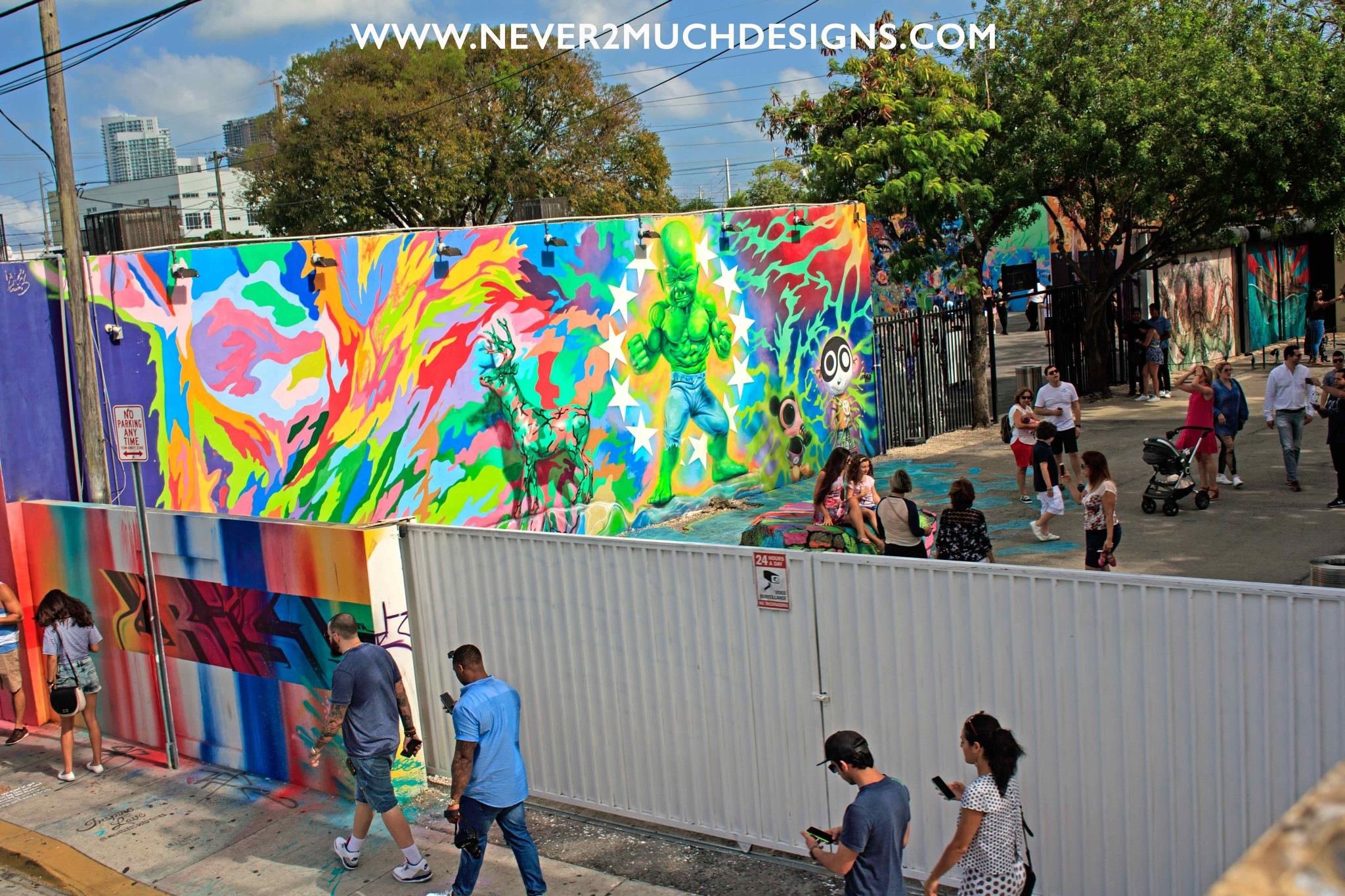 Bright Walls by Michael Vascellaro