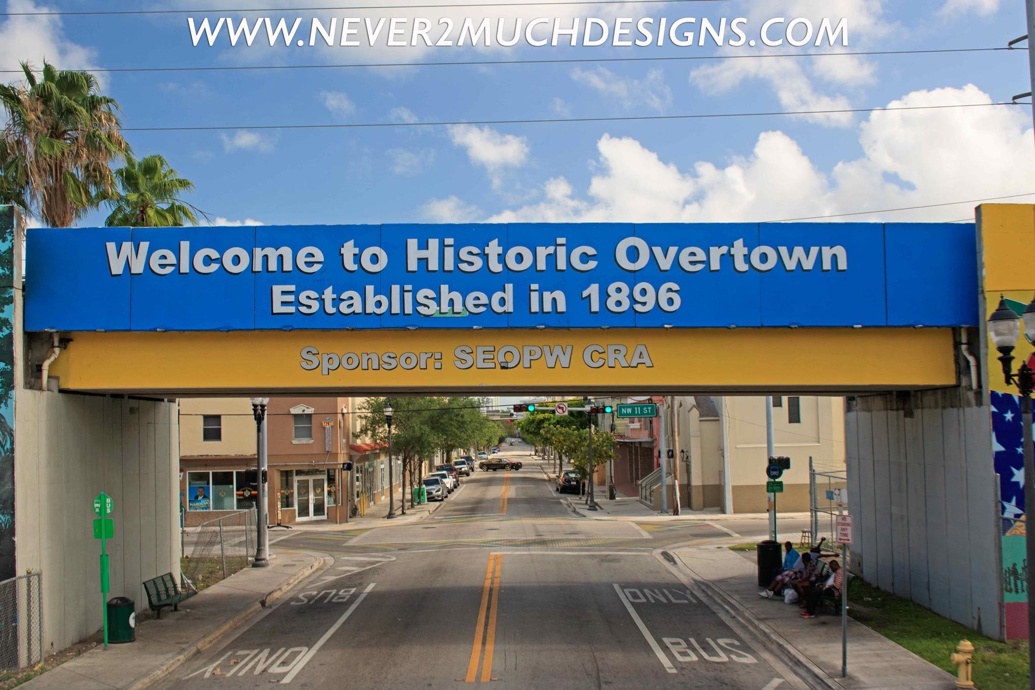Overtown Miami by Michael Vascellaro