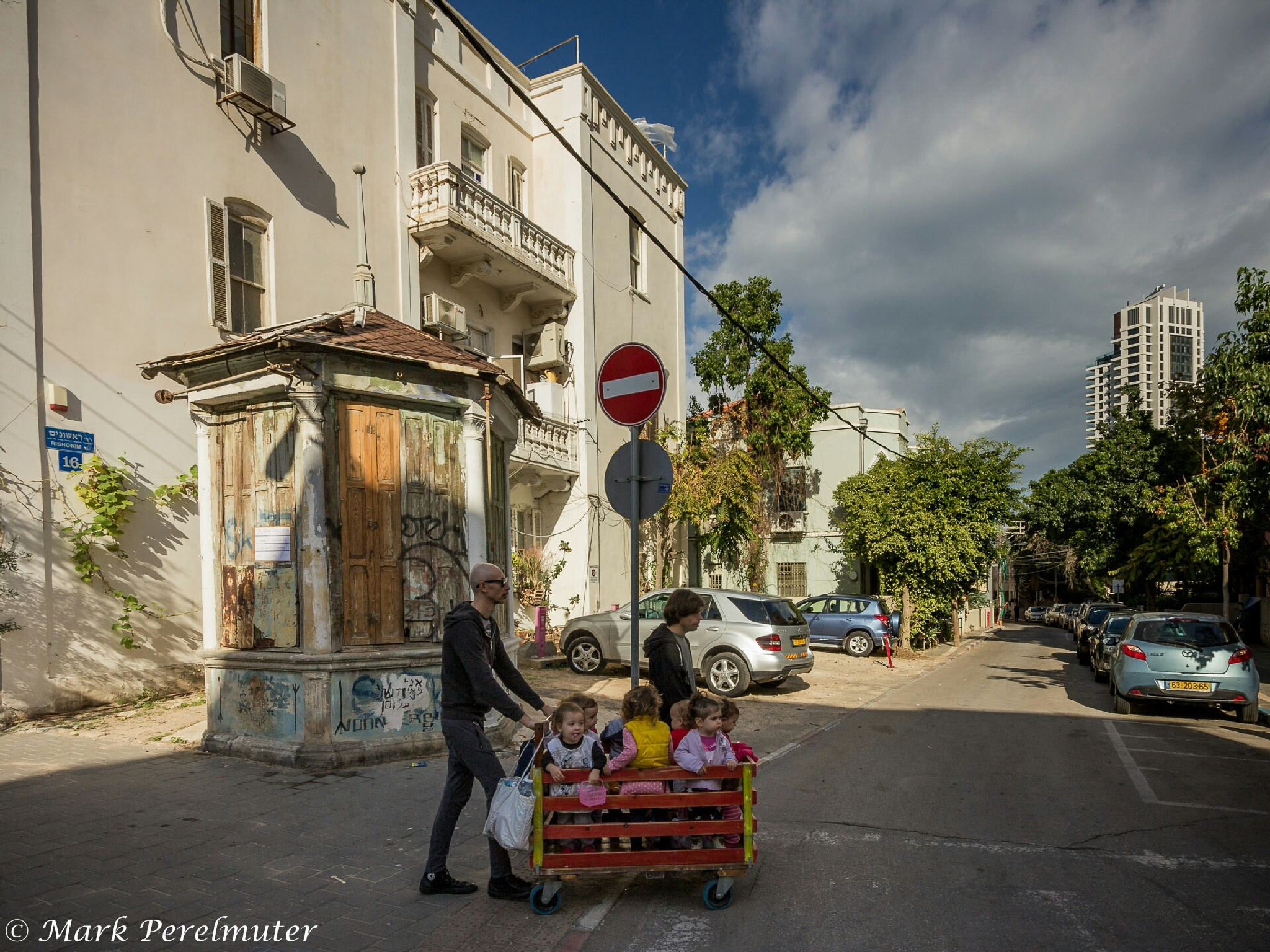 Tel Aviv reality  by Mark Perelmuter