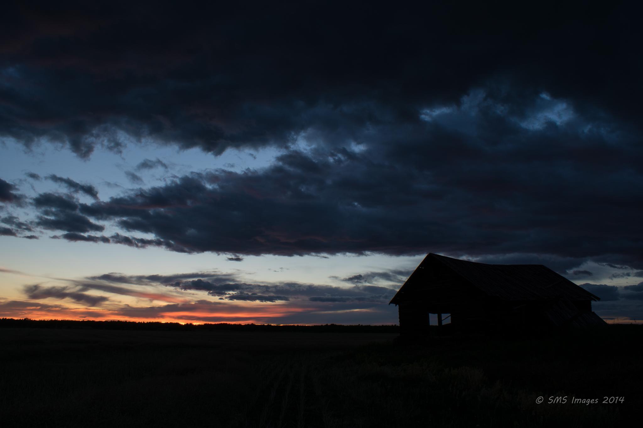 Evening With a Farmhouse 7 by SteveMumert