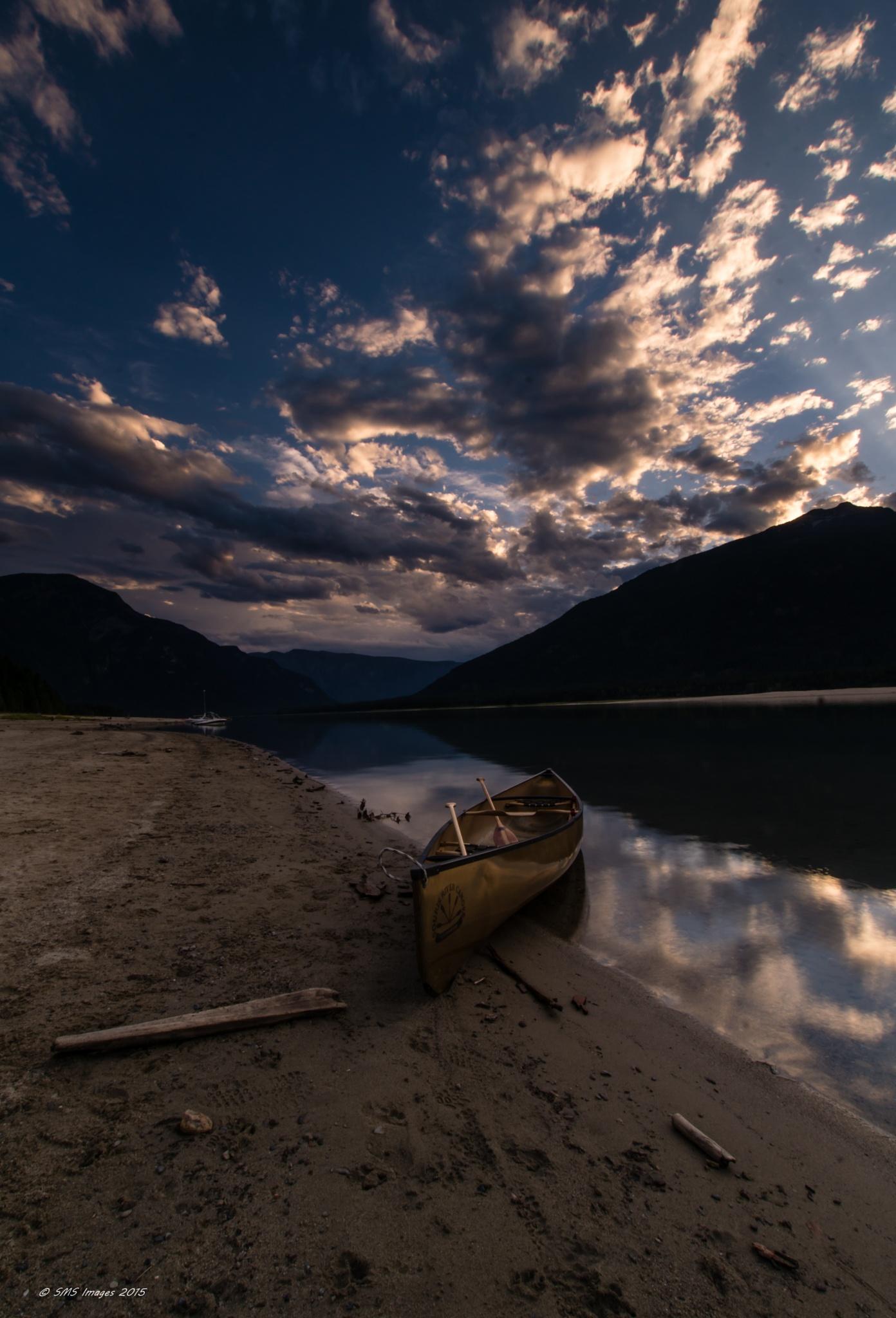 Big Sky, Clear Water by SteveMumert