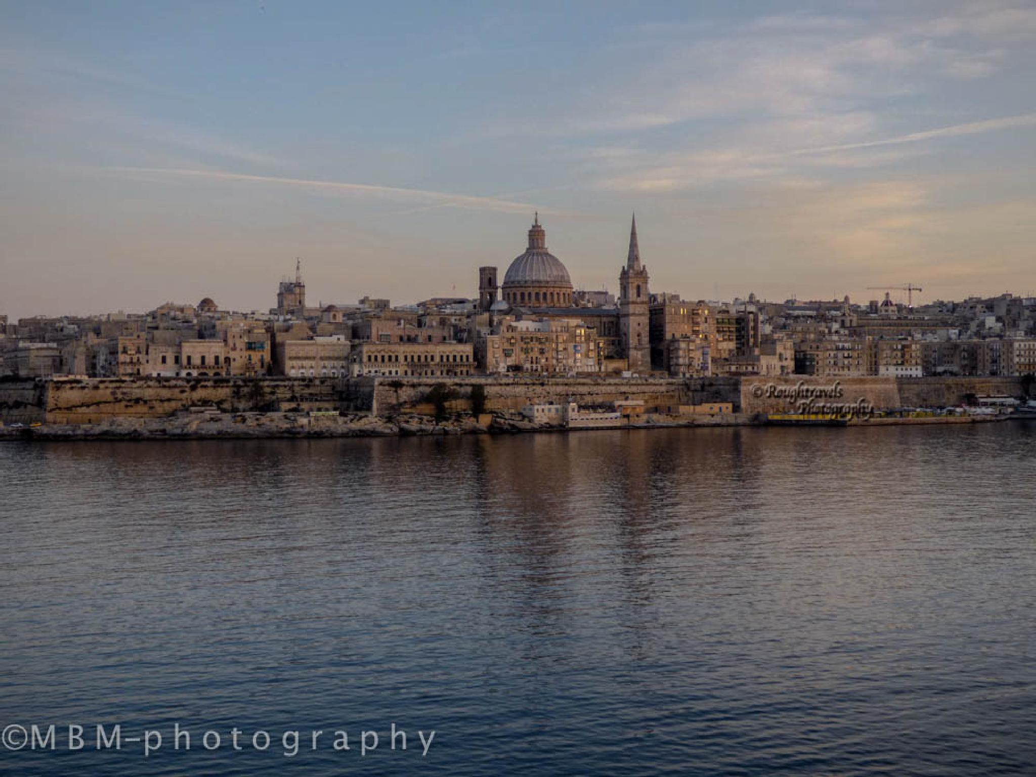 Beautiful Valletta by Michel B