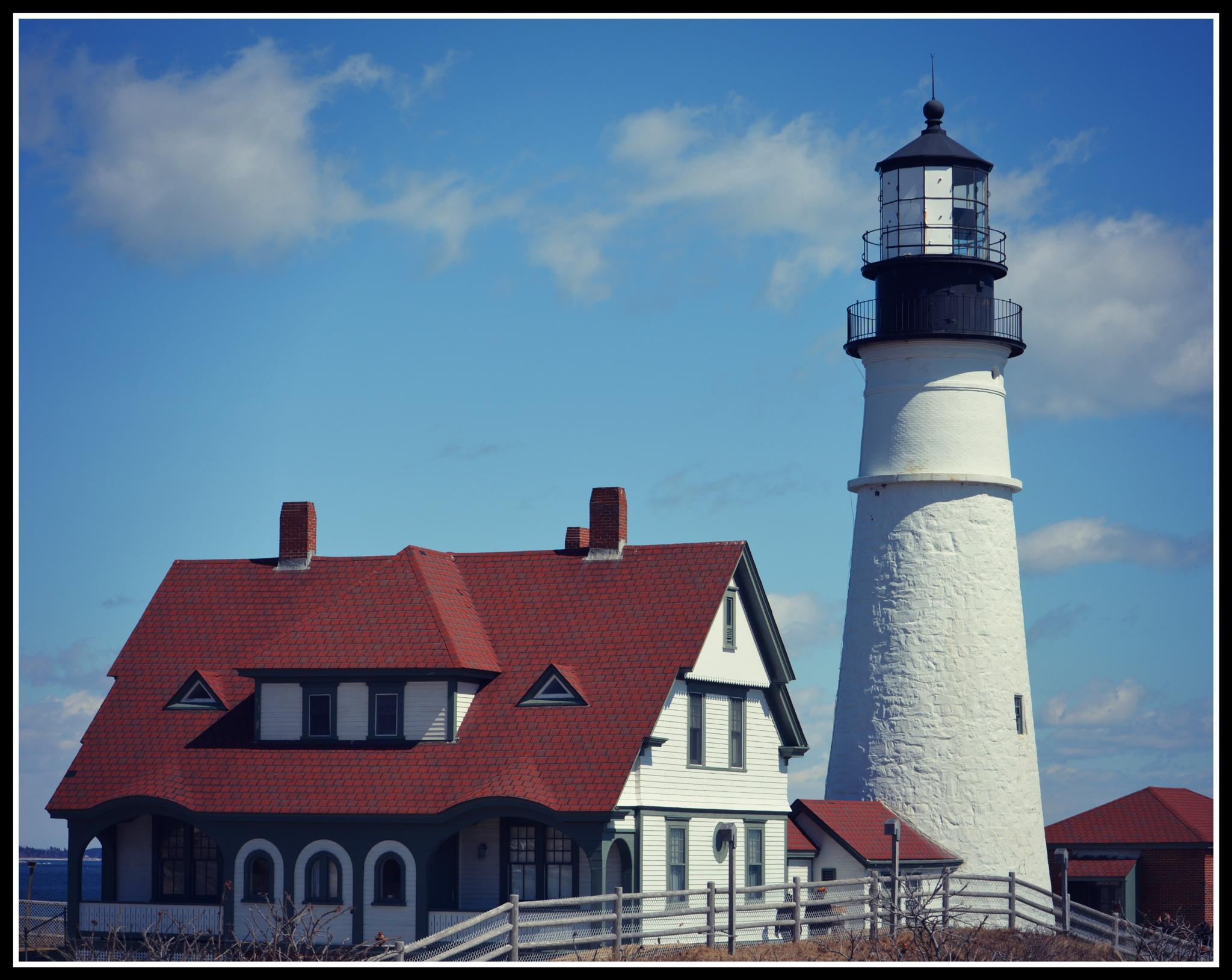 Port Head Light House by laurabond.shinn
