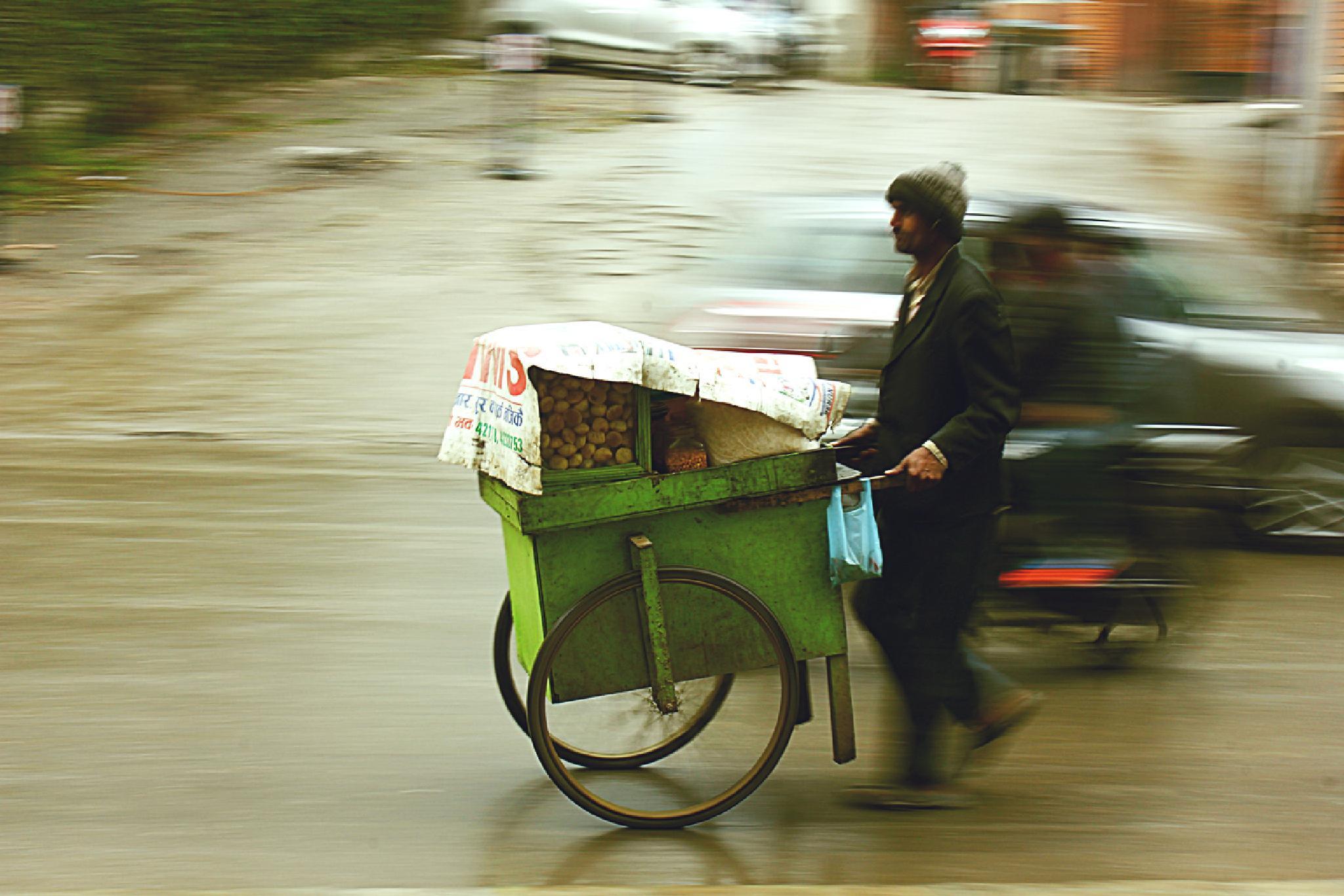 Street vendor by arjav.shrestha