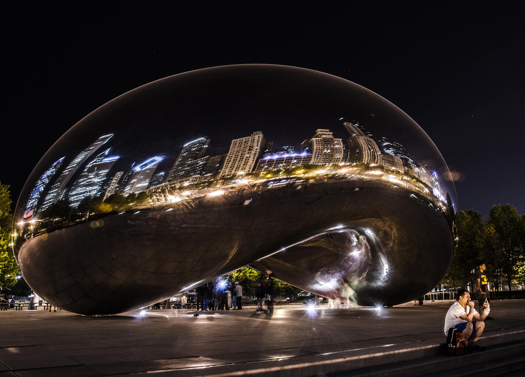 Cloudgate Glow  by shellykg