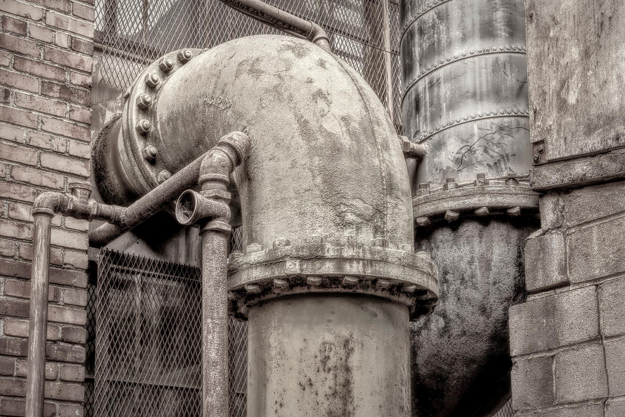 industrial #33 by Gerry Daniel