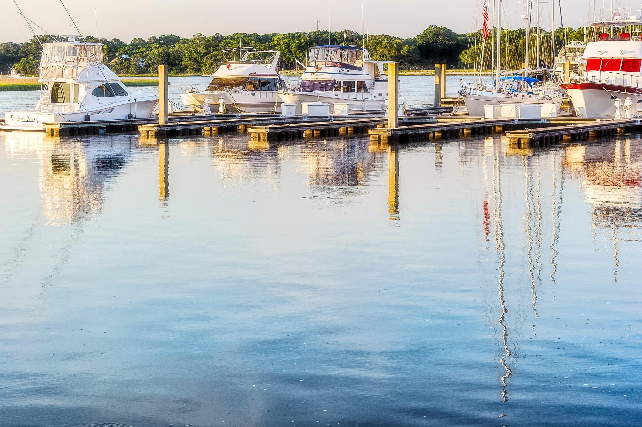 marina scene by Gerry Daniel