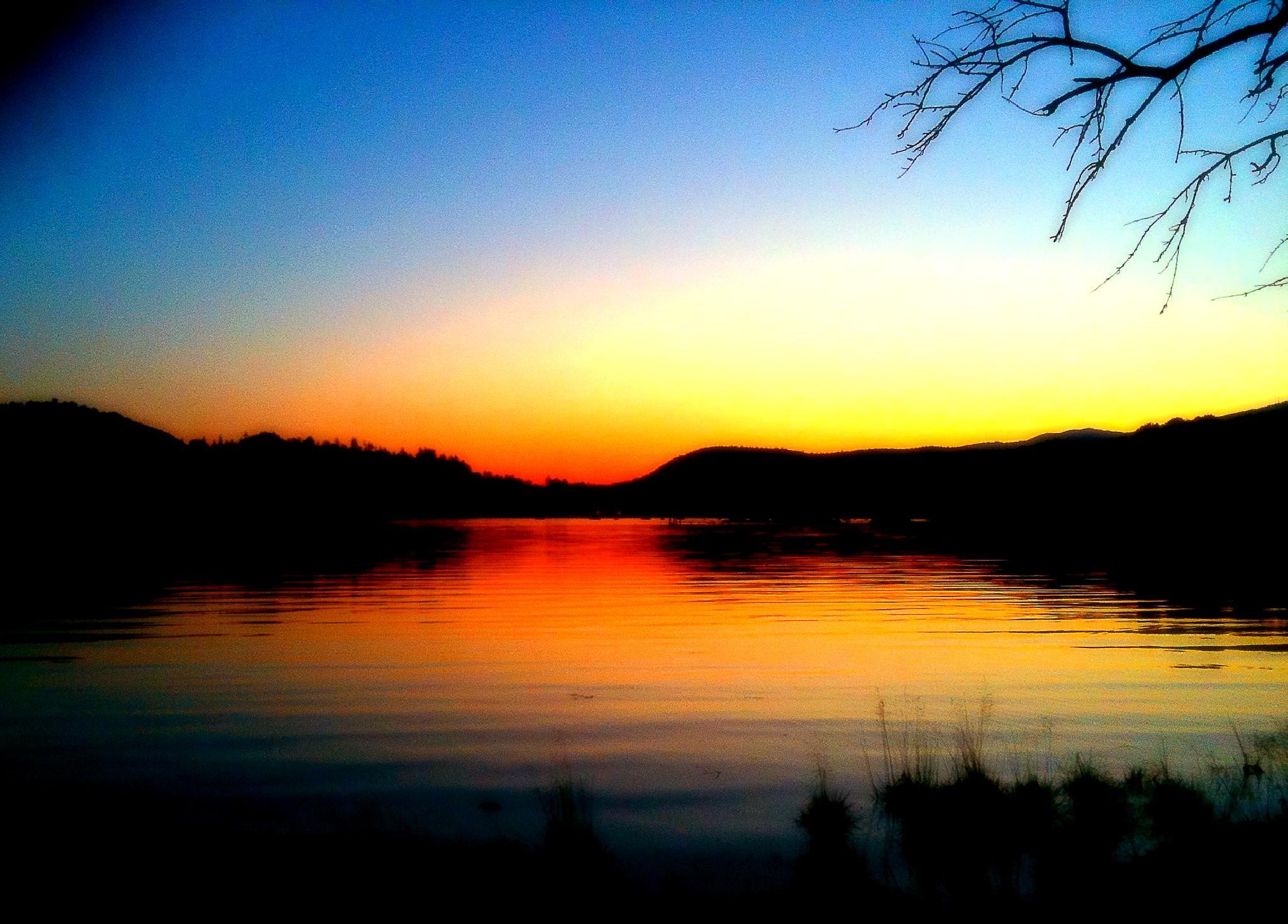 Fire Lake by Bryon Grove