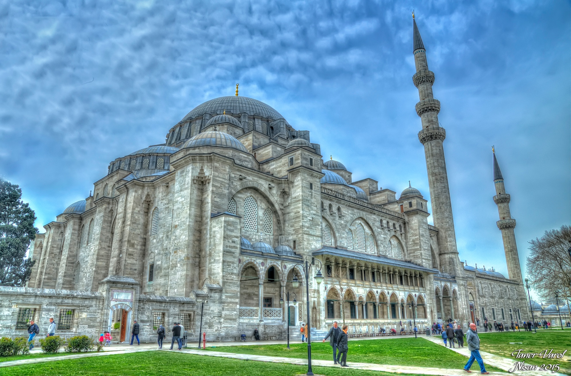 Photo in HDRI #mosque #historicalbuilding #architectural #ottoman #istanbul #hdri #hdr photograph #exposure #dome #ornaments #traditional #detail #holy place #islam #türkiye