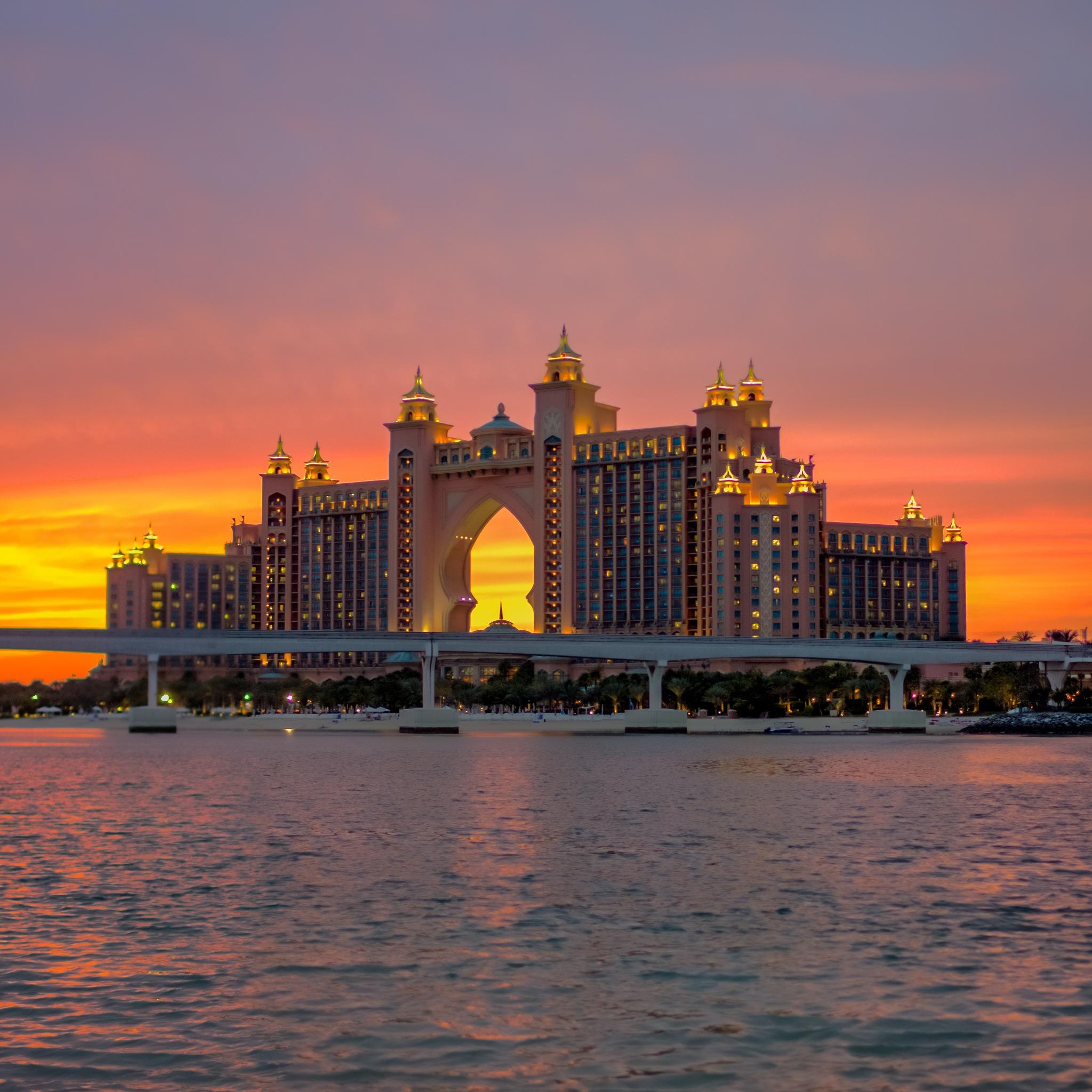 Atlantis Sunset by Wissam Chehade