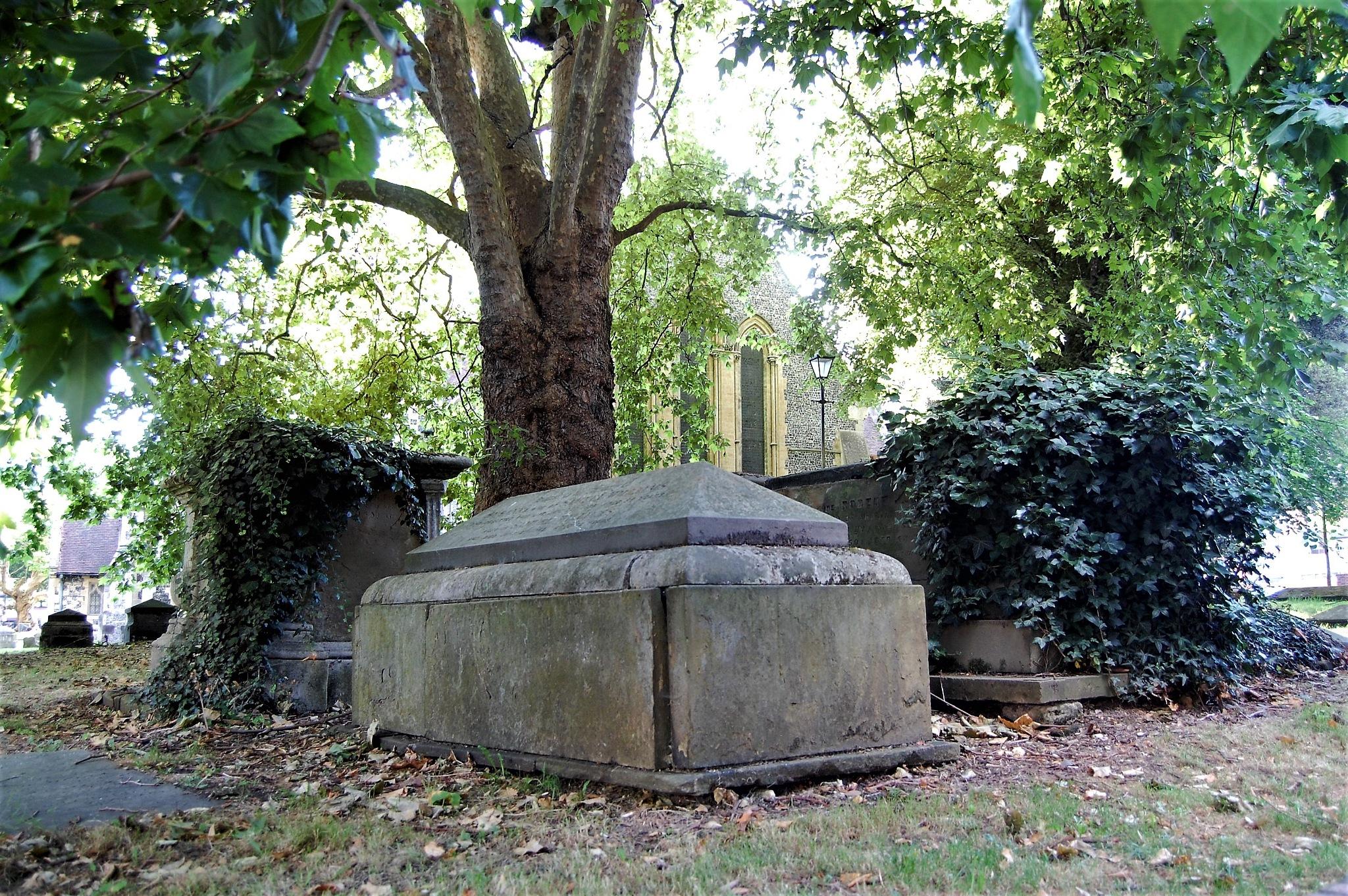 Old cemetery in Reading by lillemor.ekstrom ek