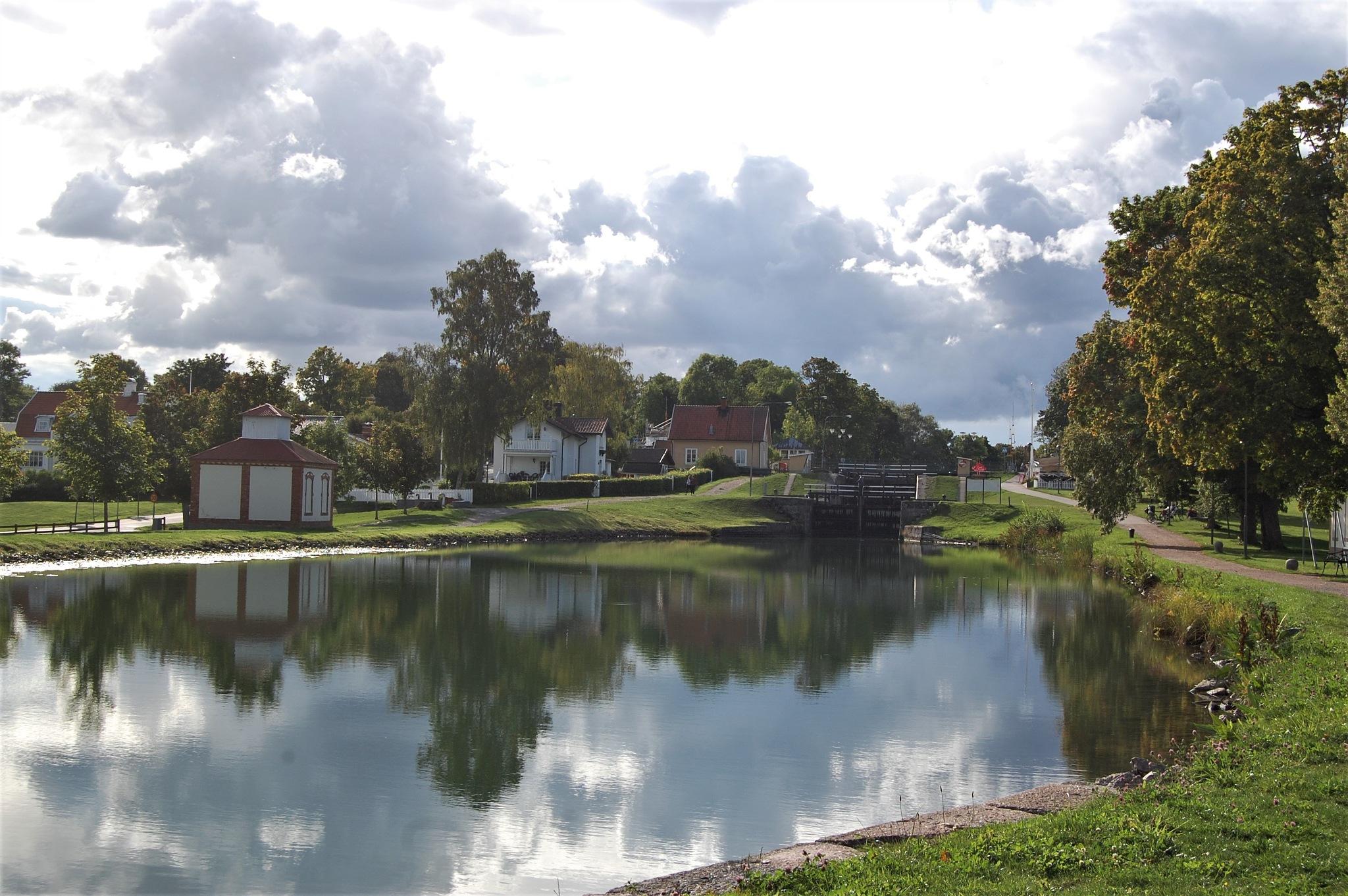 Berg's locks, Göta Kanal by lillemor.ekstrom ek