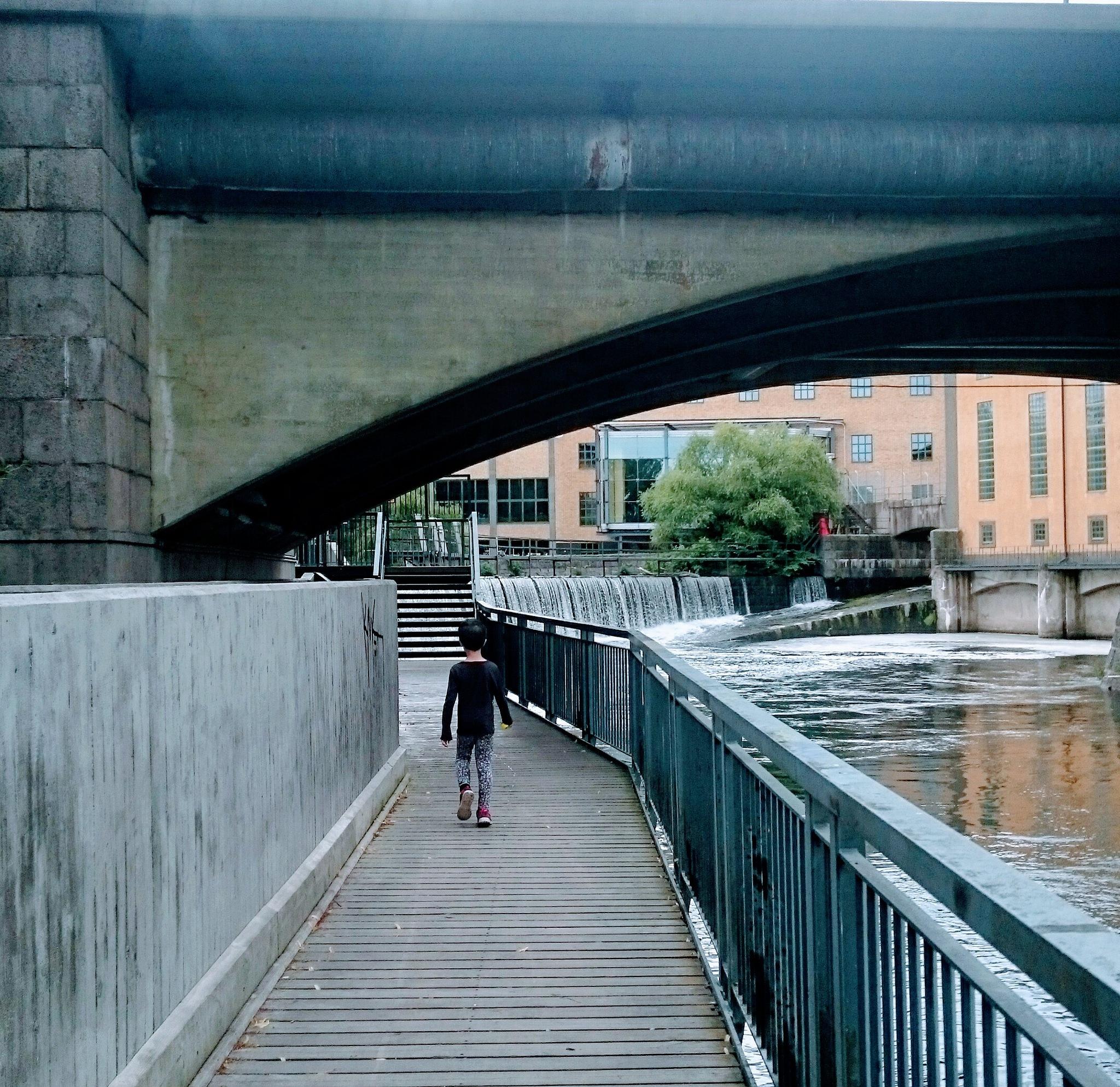Walking along the river  by lillemor.ekstrom ek