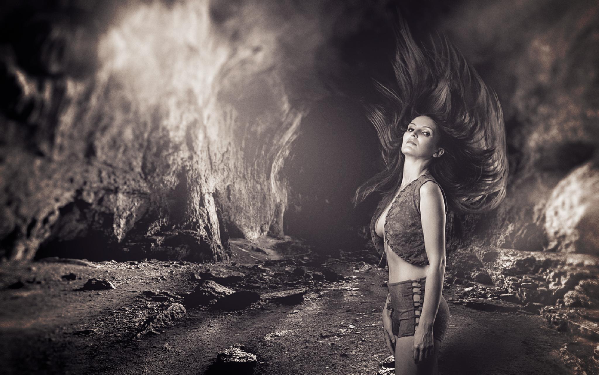 Photo in Fine Art #model #fineart #dark #portrait