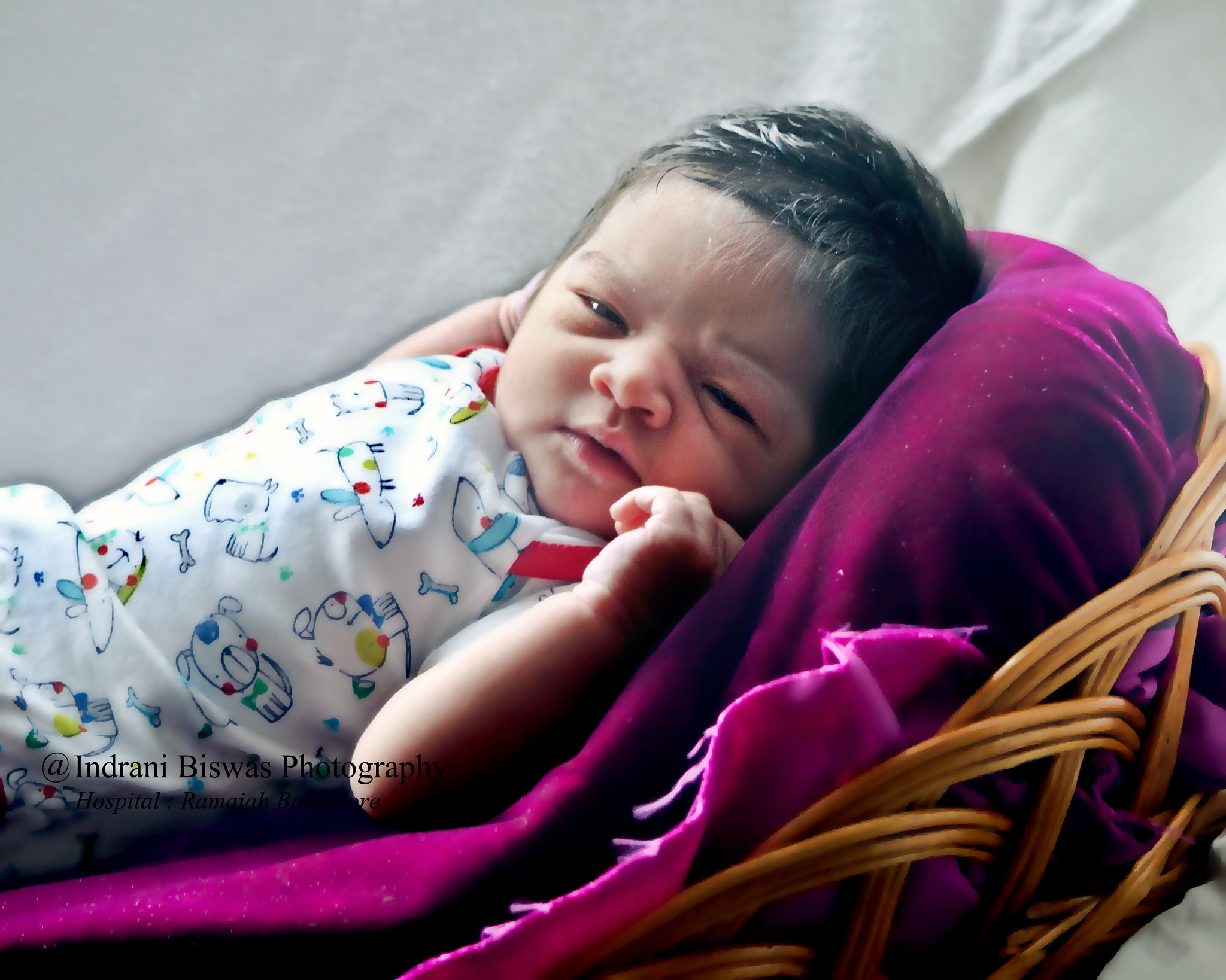 New Born Baby Shoot.. by Indrani Biswas