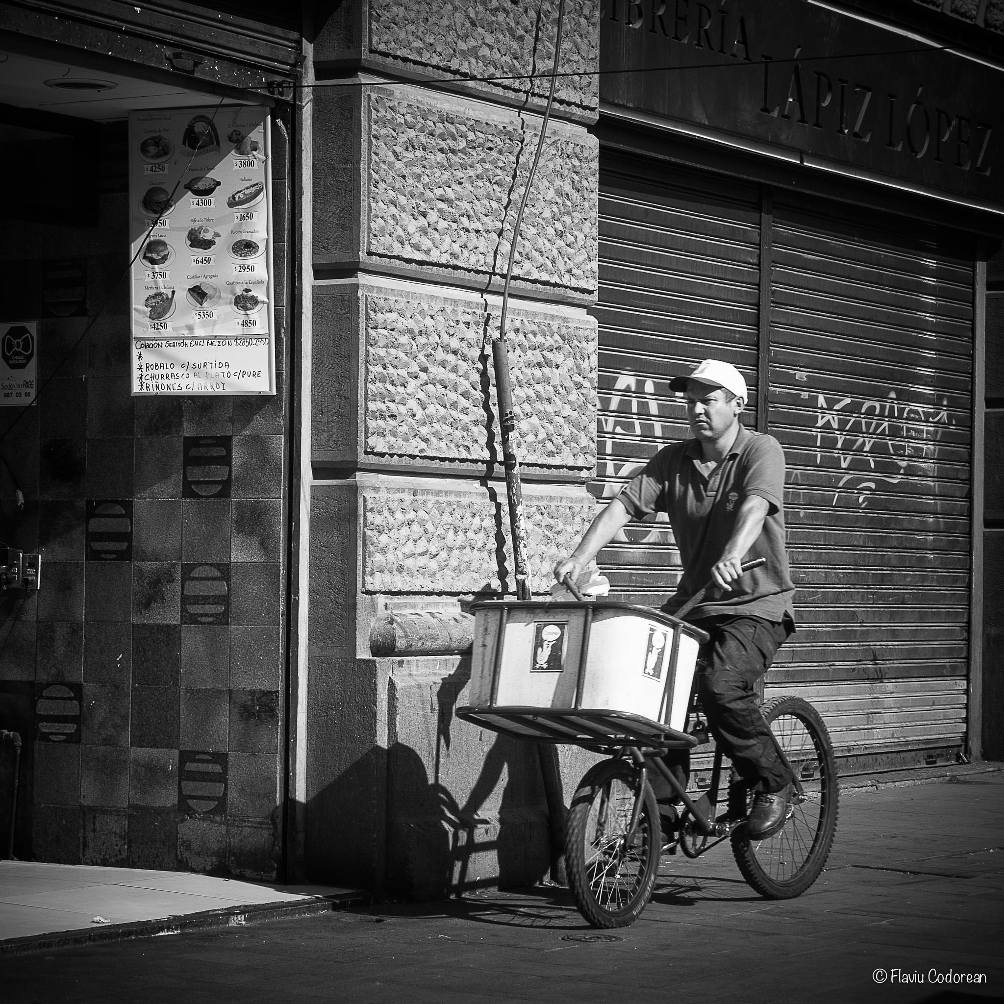 Morning activities - Delivery man by FlaviuCodorean