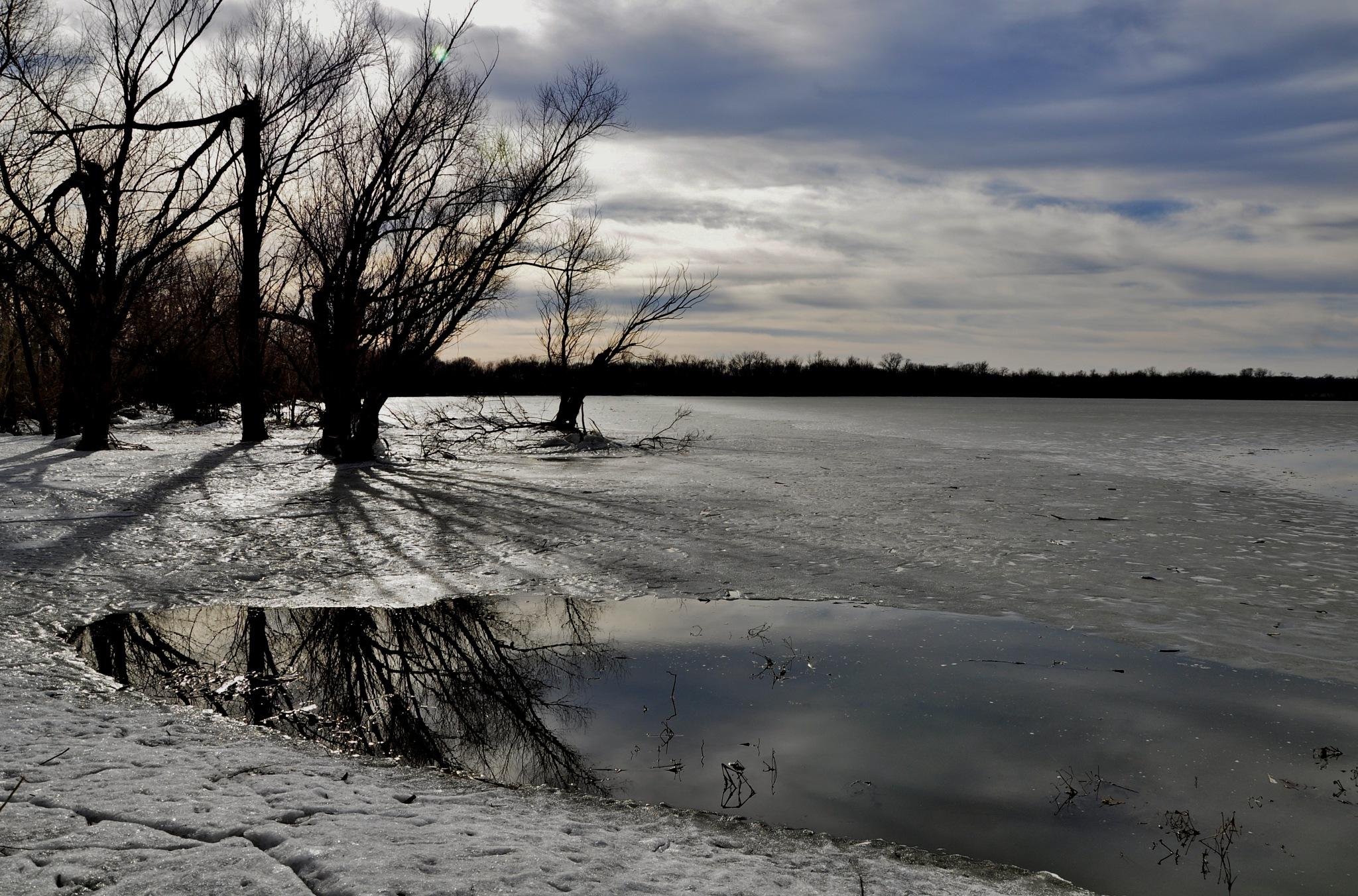 Frozen edge  by debbylesko