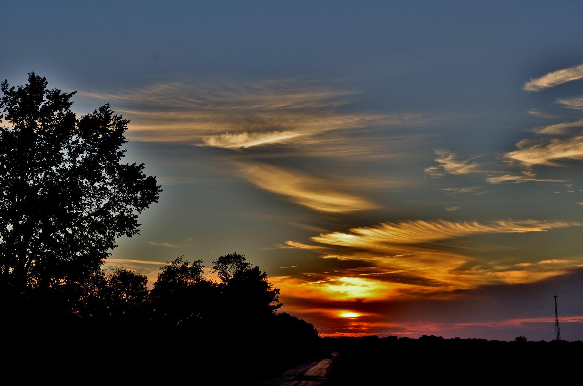 Sunset by debbylesko