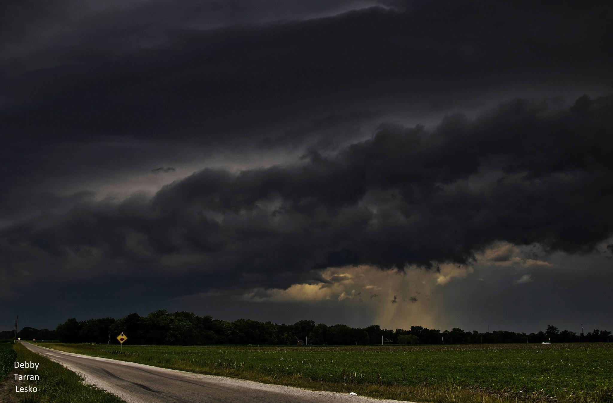 Storm clouds.  by debbylesko