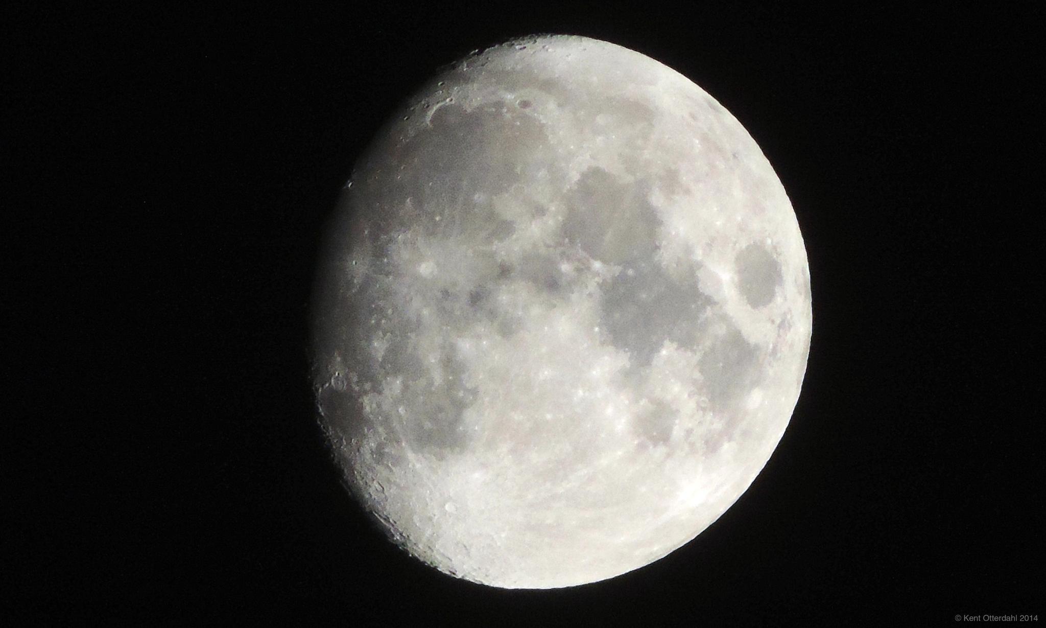The Moon by kent.otterdahl