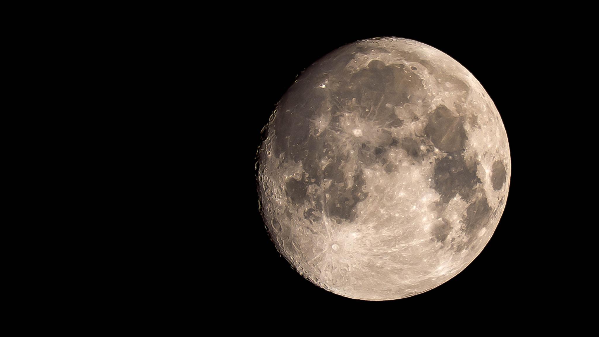 The Moon tonight in Borås by kent.otterdahl