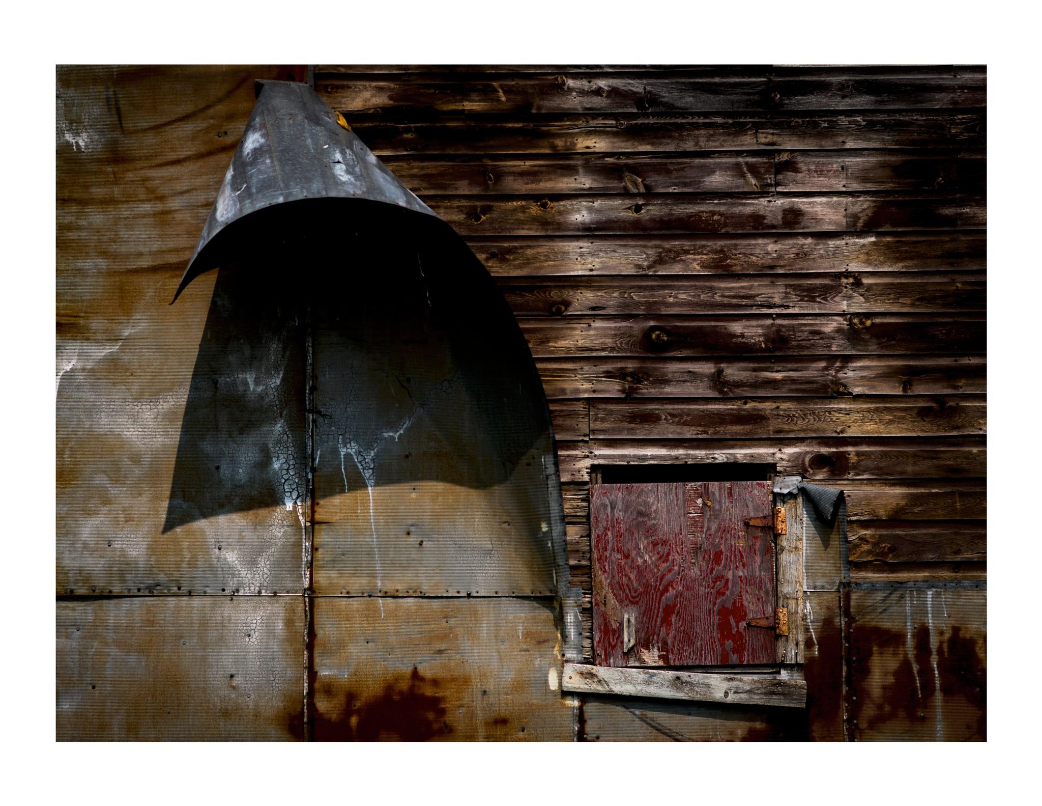 Barn wall abstract by jhulton