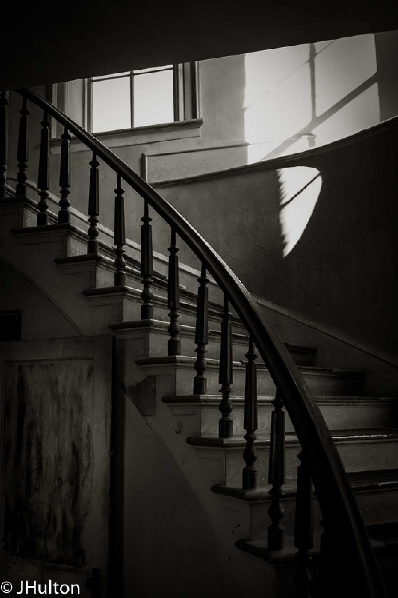 Ghost Town Ascending Light by jhulton