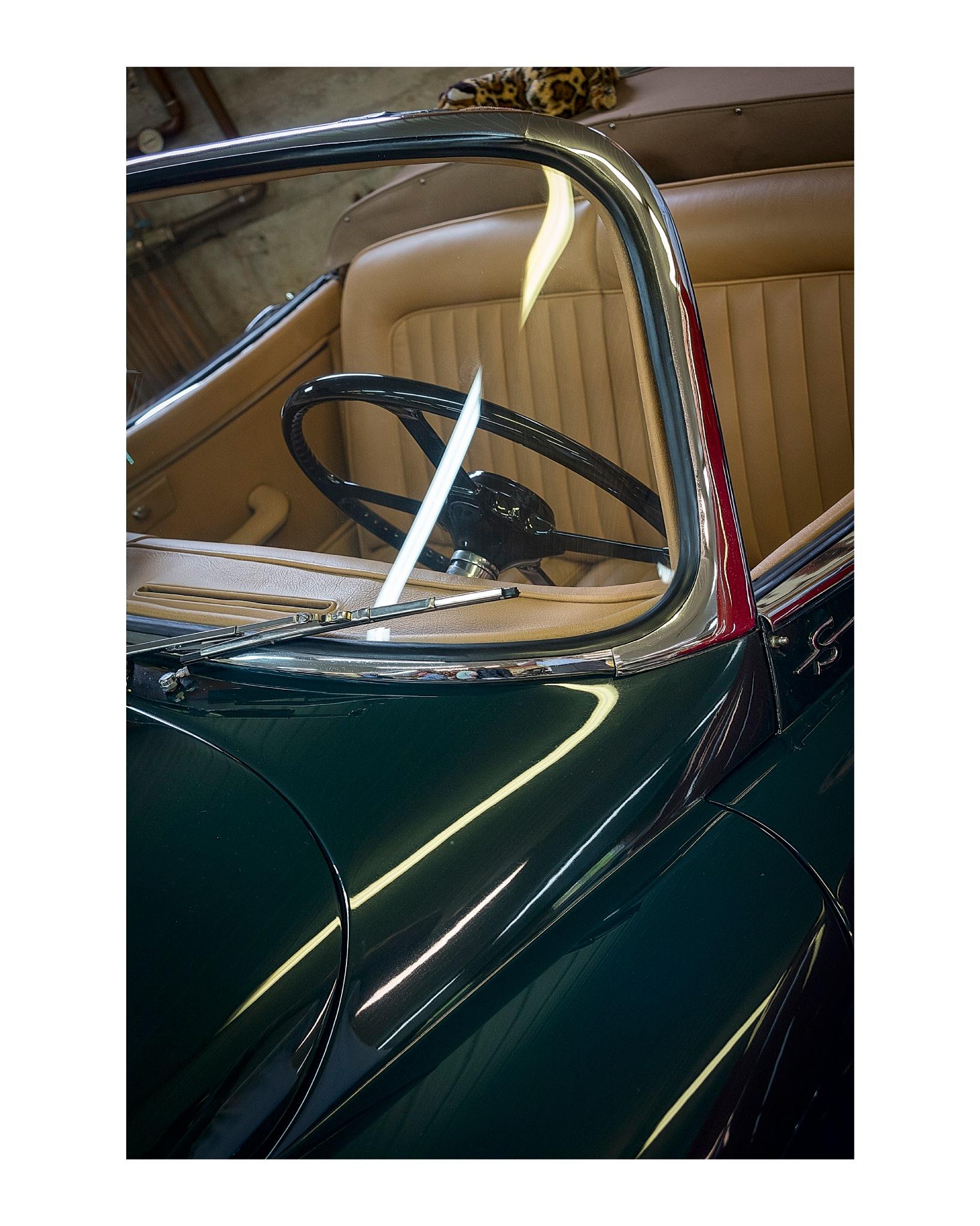 1959 Jaguar XK 150 S Roadster in British Racing Green by jhulton