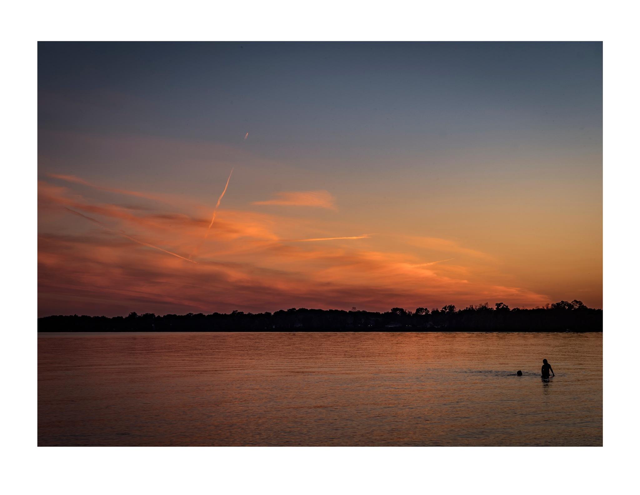 Evening Swim by jhulton