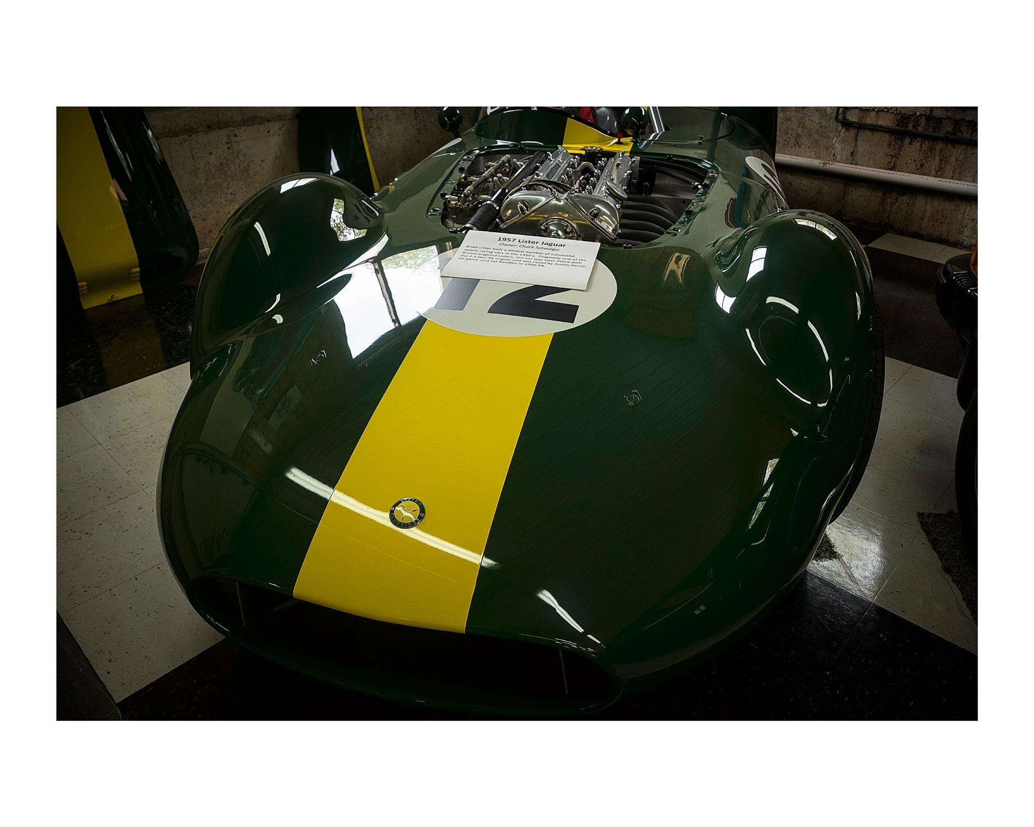 "56"" Lister Jaguar by jhulton"