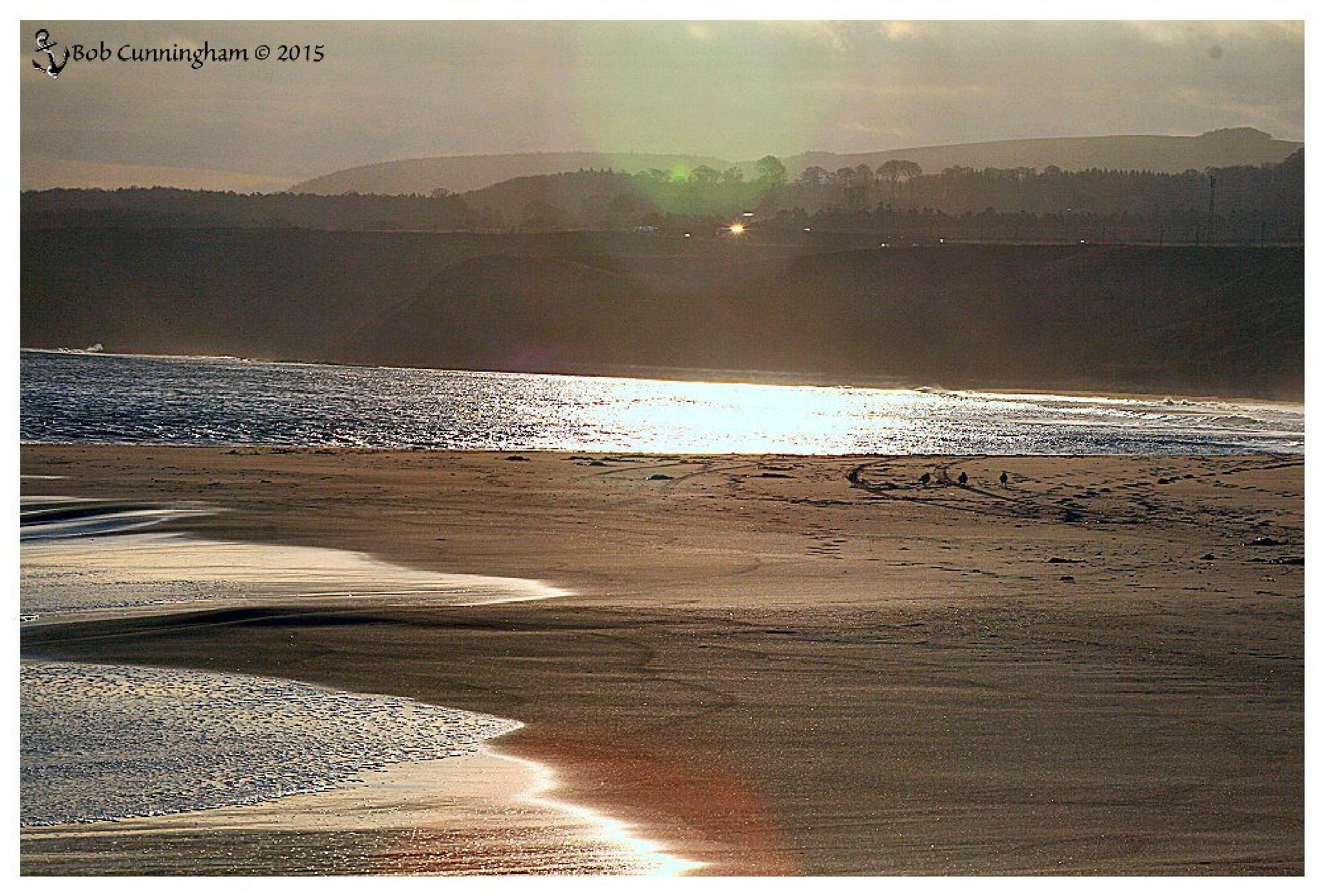 Beach at Thorntonloch by bob.cunningham.56884